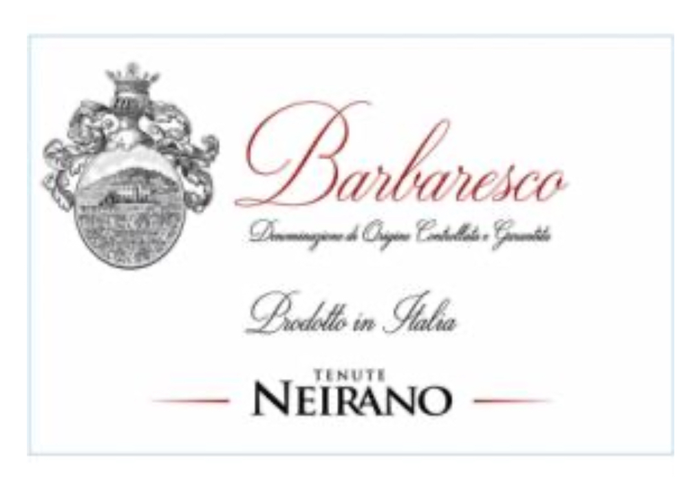 Tenute Neirano Barbaresco 2016