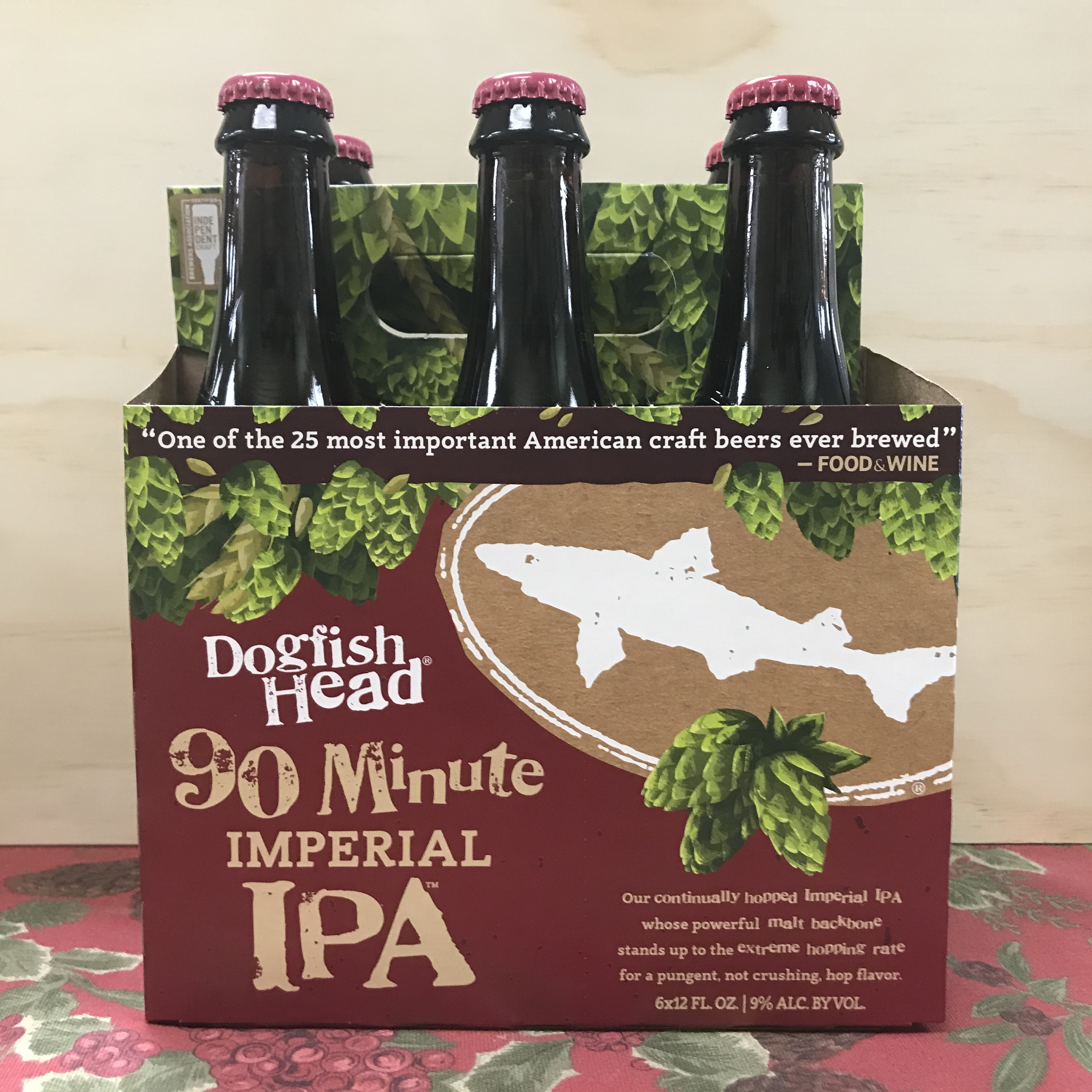 Dogfish Head 90 Minute Imperial IPA 6 x 12 bottles