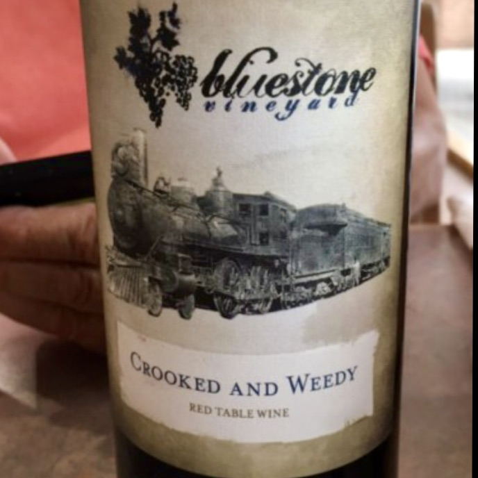 Bluestone Vineyard Crooked & Weedy Red Table Wine