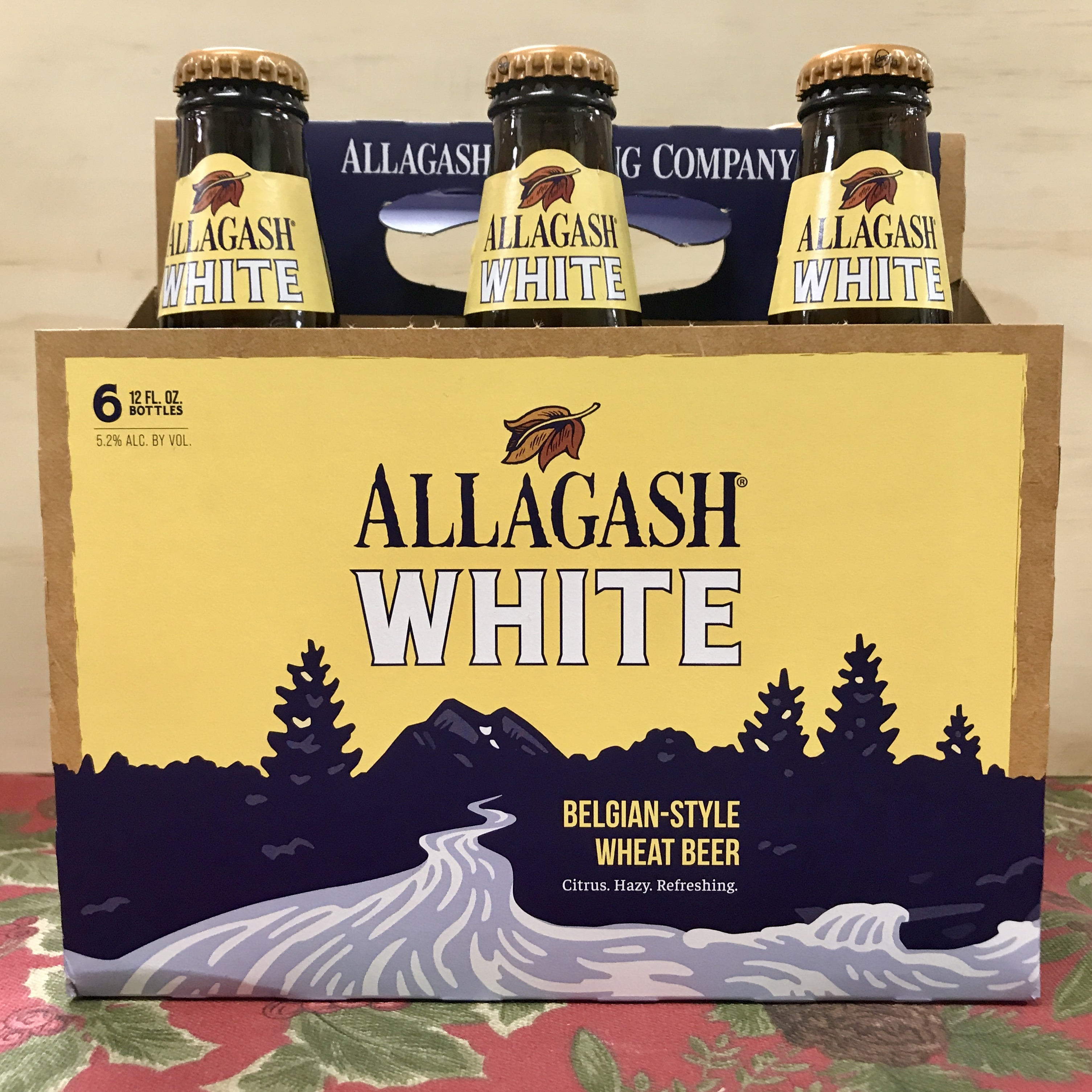 Allagash White Belgian-style Wheat Beer 6pk/12oz bottles