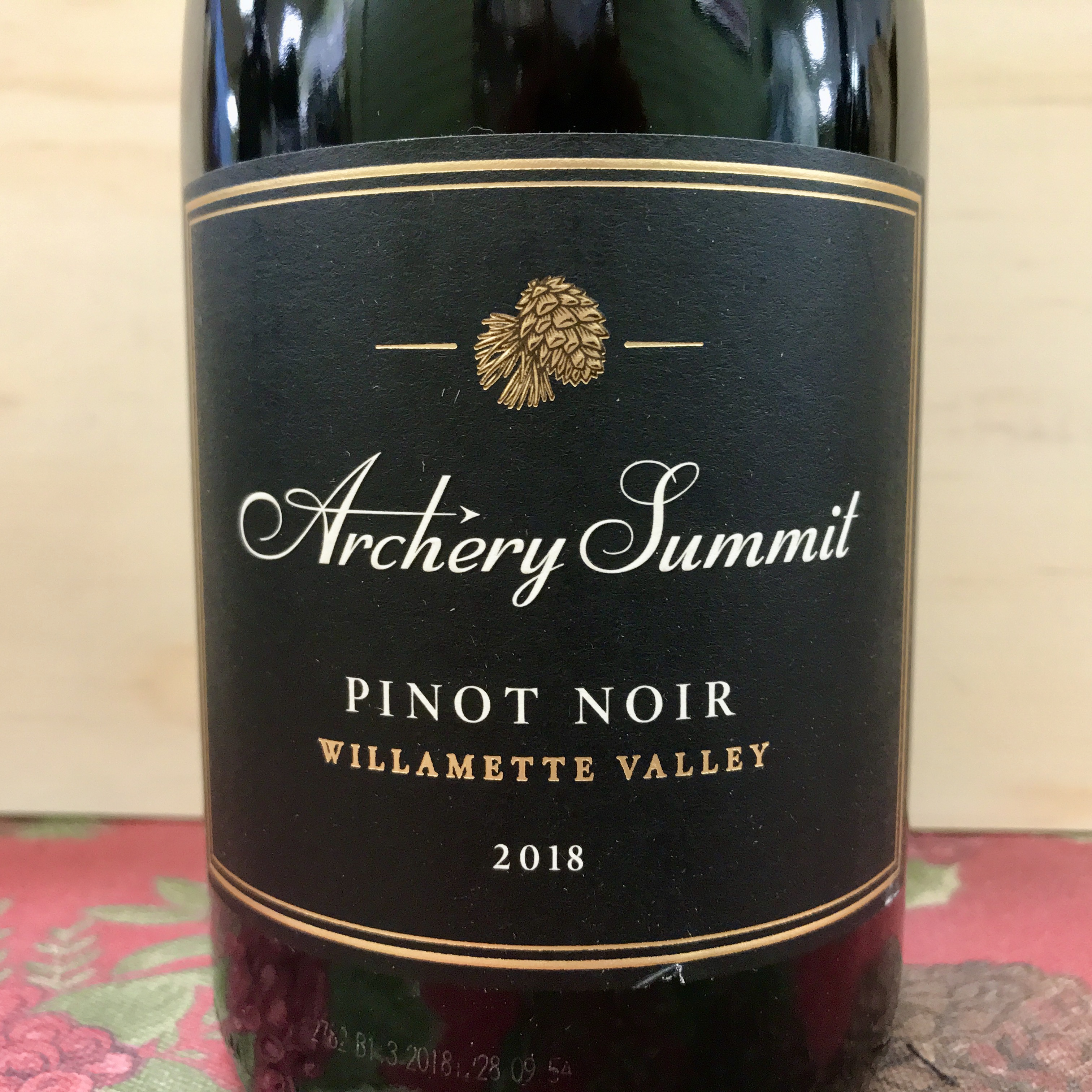 Archery Summit Pinot Noir Wilamette Valley 2018
