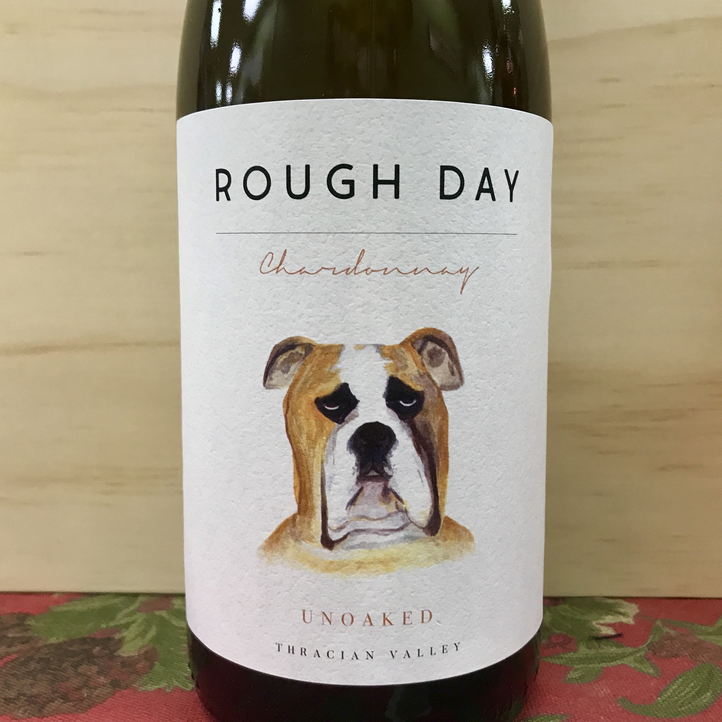Rough Day Unoaked Chardonnay 2019