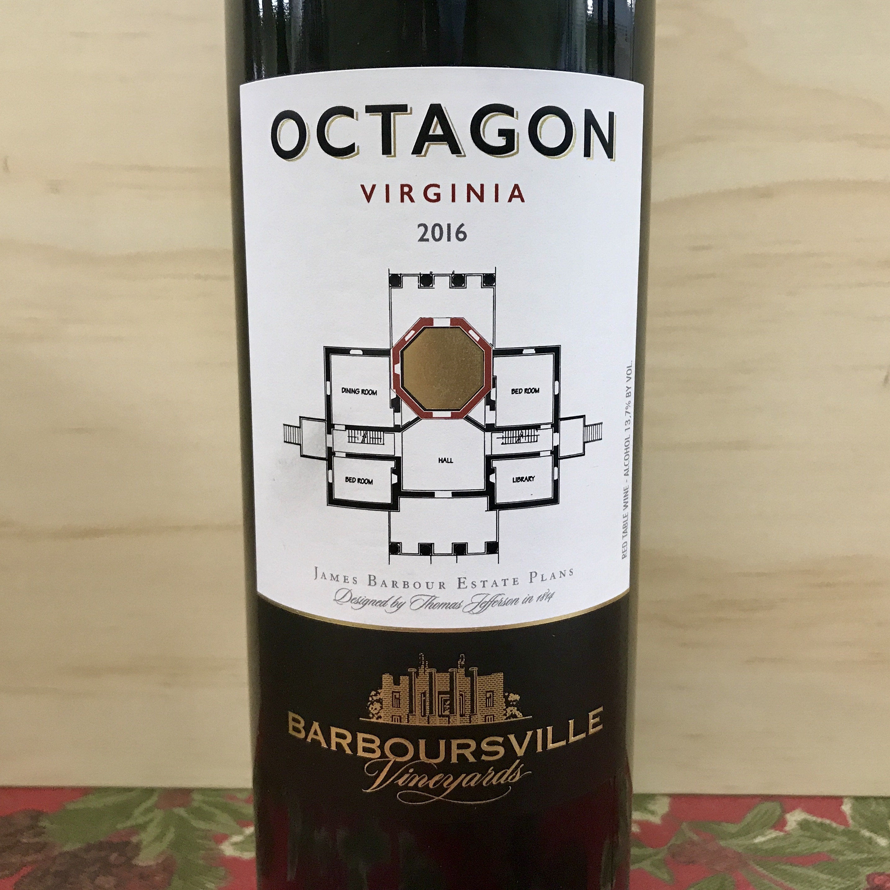 Barboursville Vineyards Octagon 2016