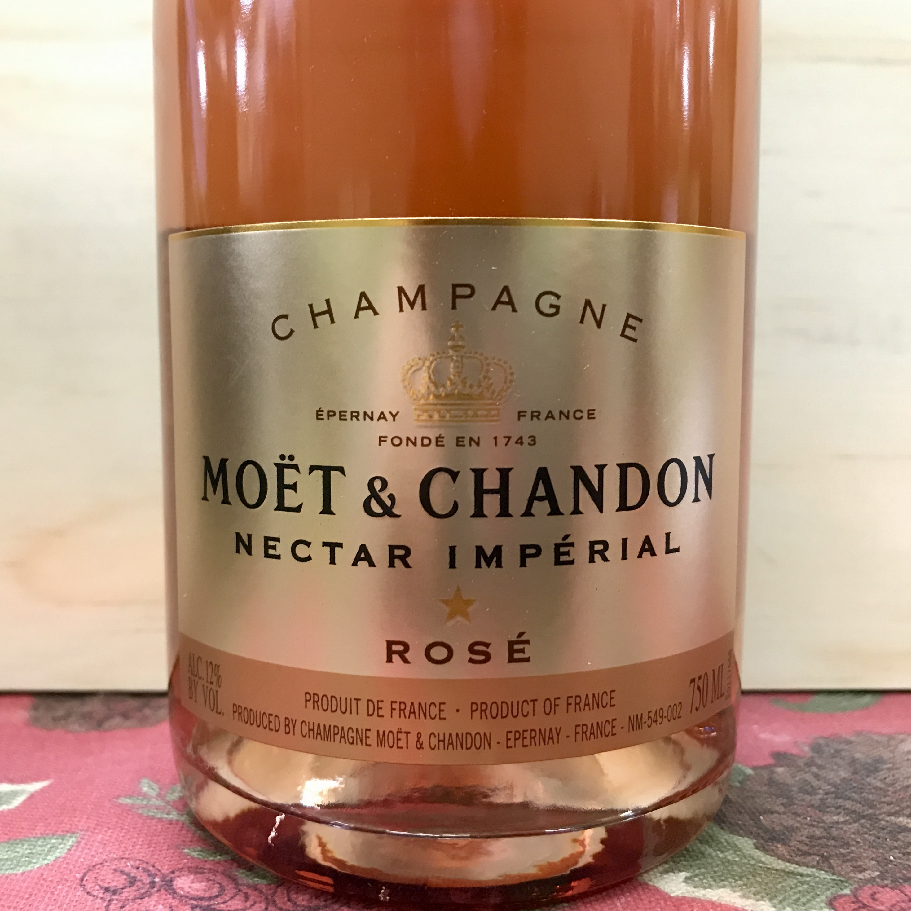 Moet & Chandon Nectar Imperial Rose Champagne NV