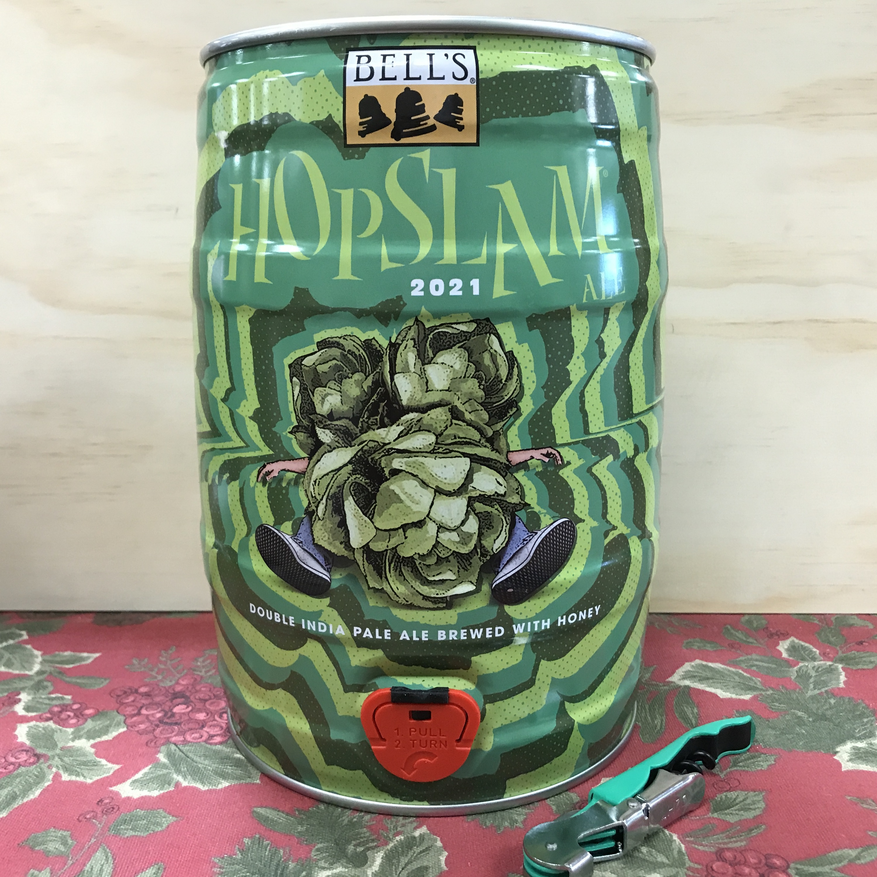 Bell's Hop Slam 5 Liter mini-keg with tap
