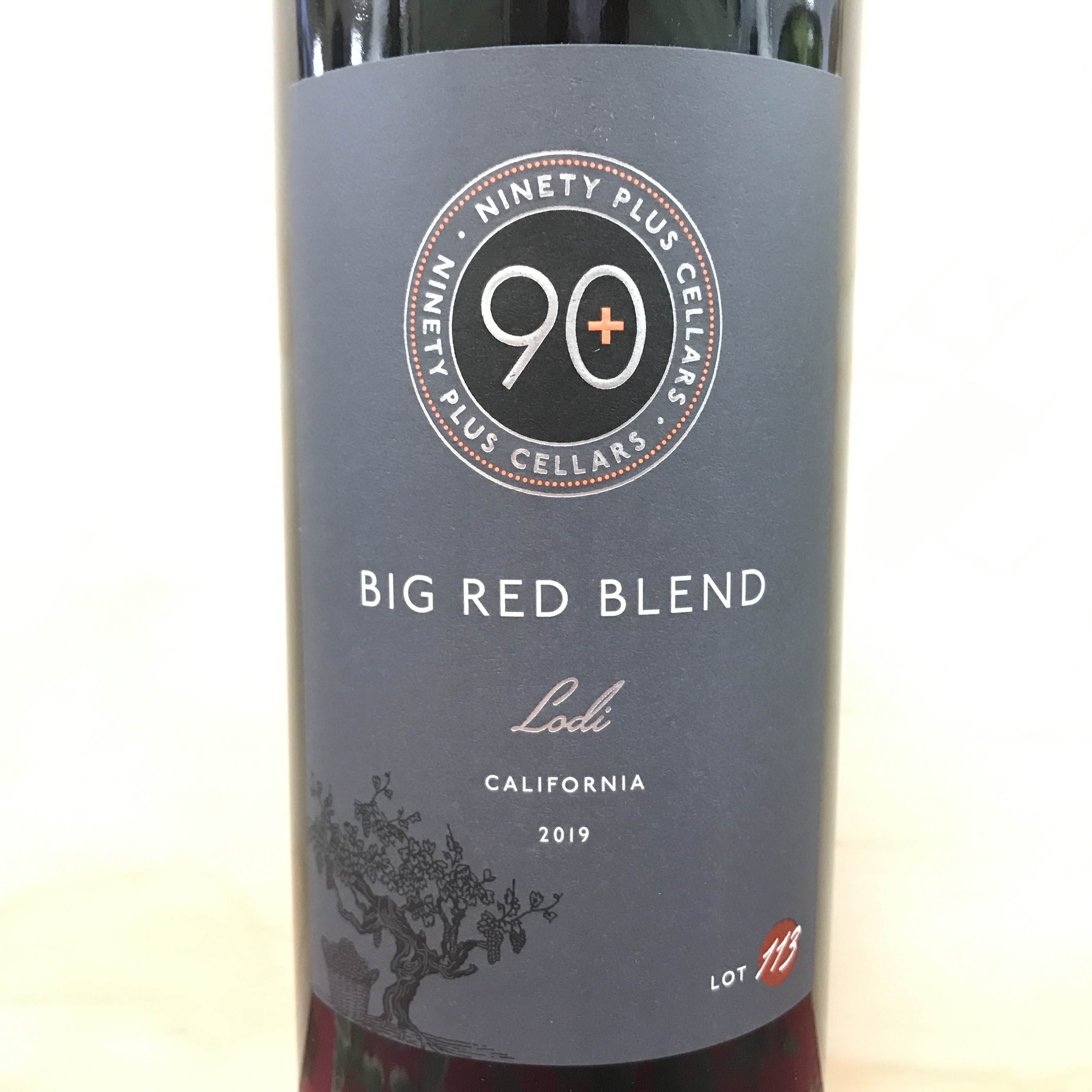 90+ Cellars Big Red Blend Lodi 2019