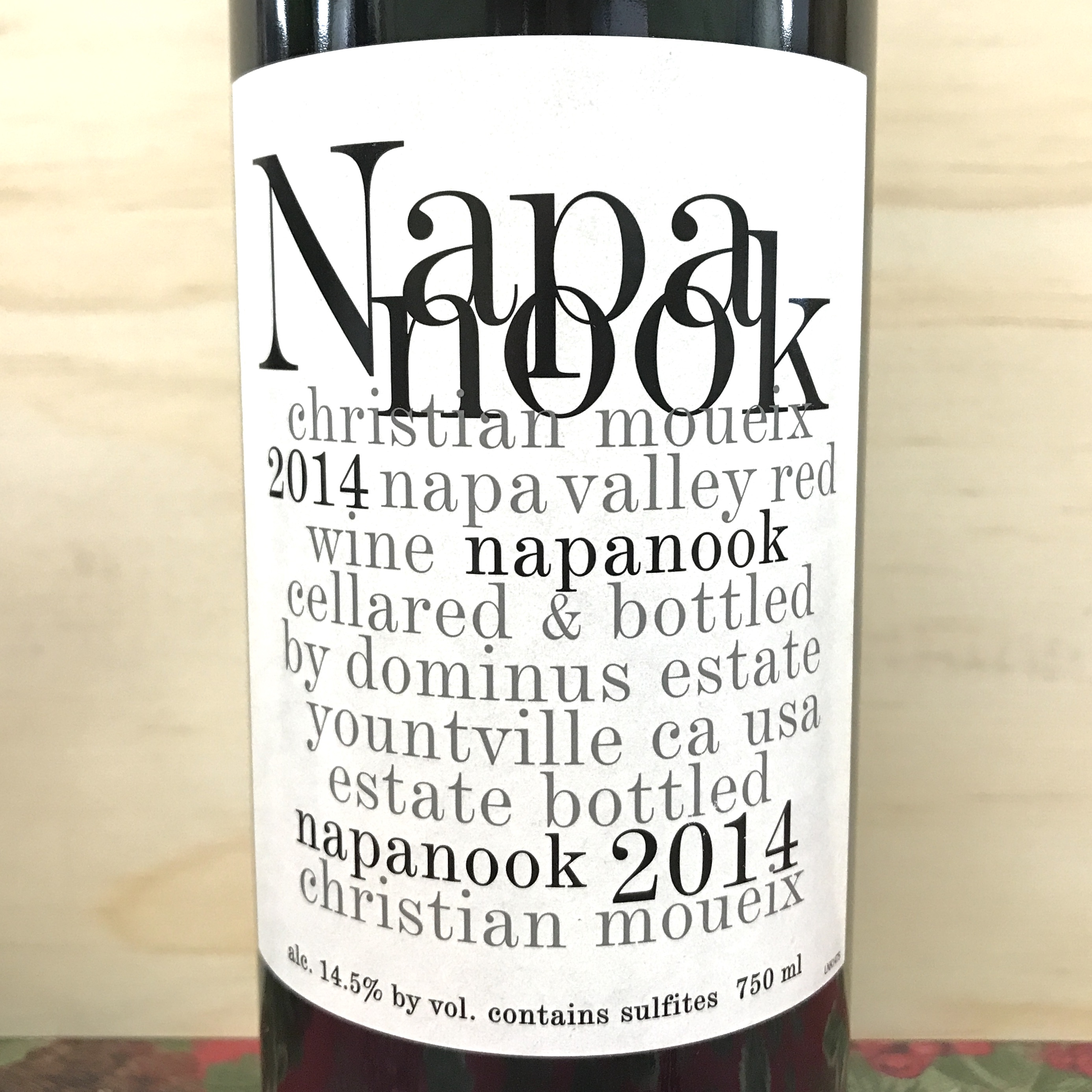Dominus Napanook Napa Valley red blend 2014