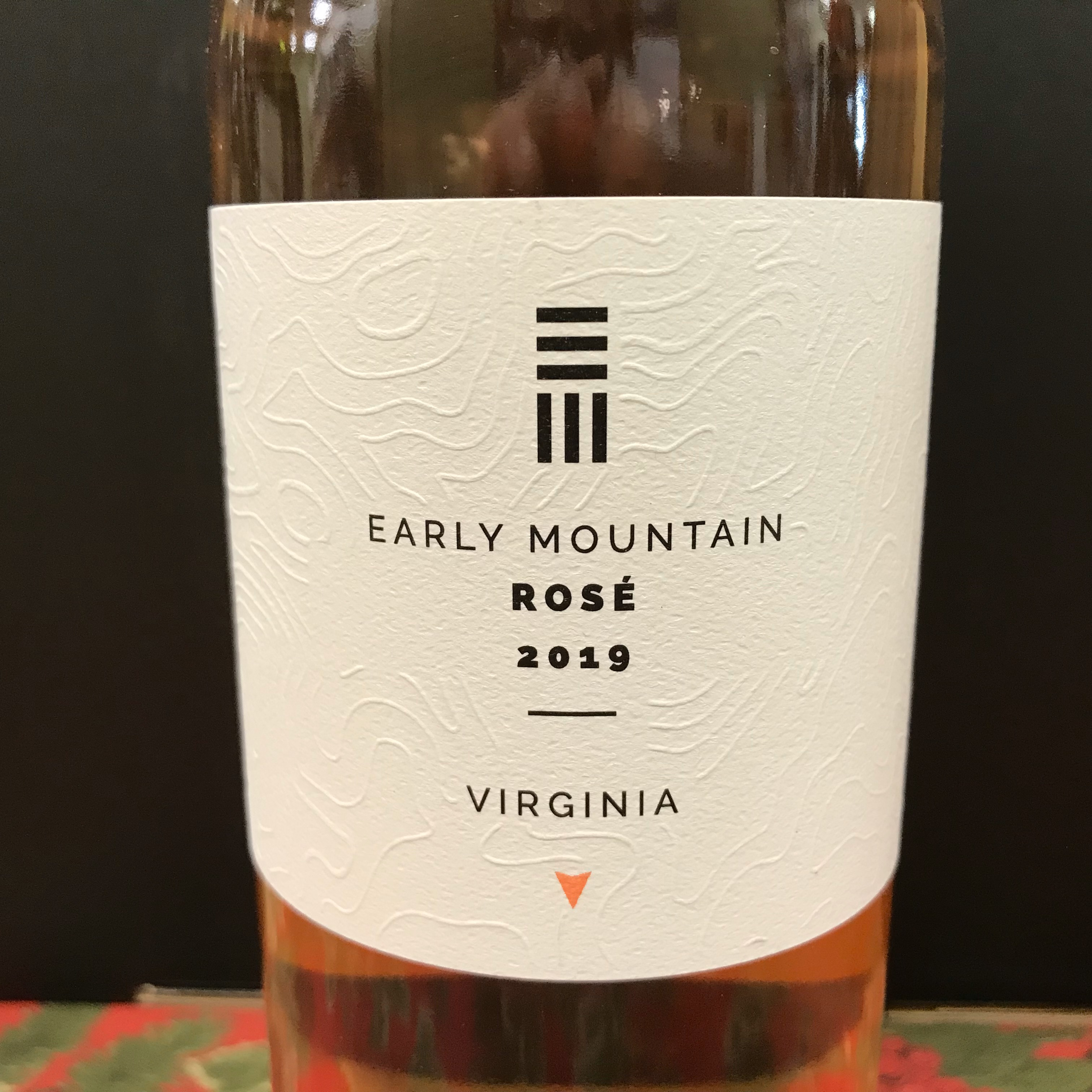 Early Mountain Vineyards Rose 2019
