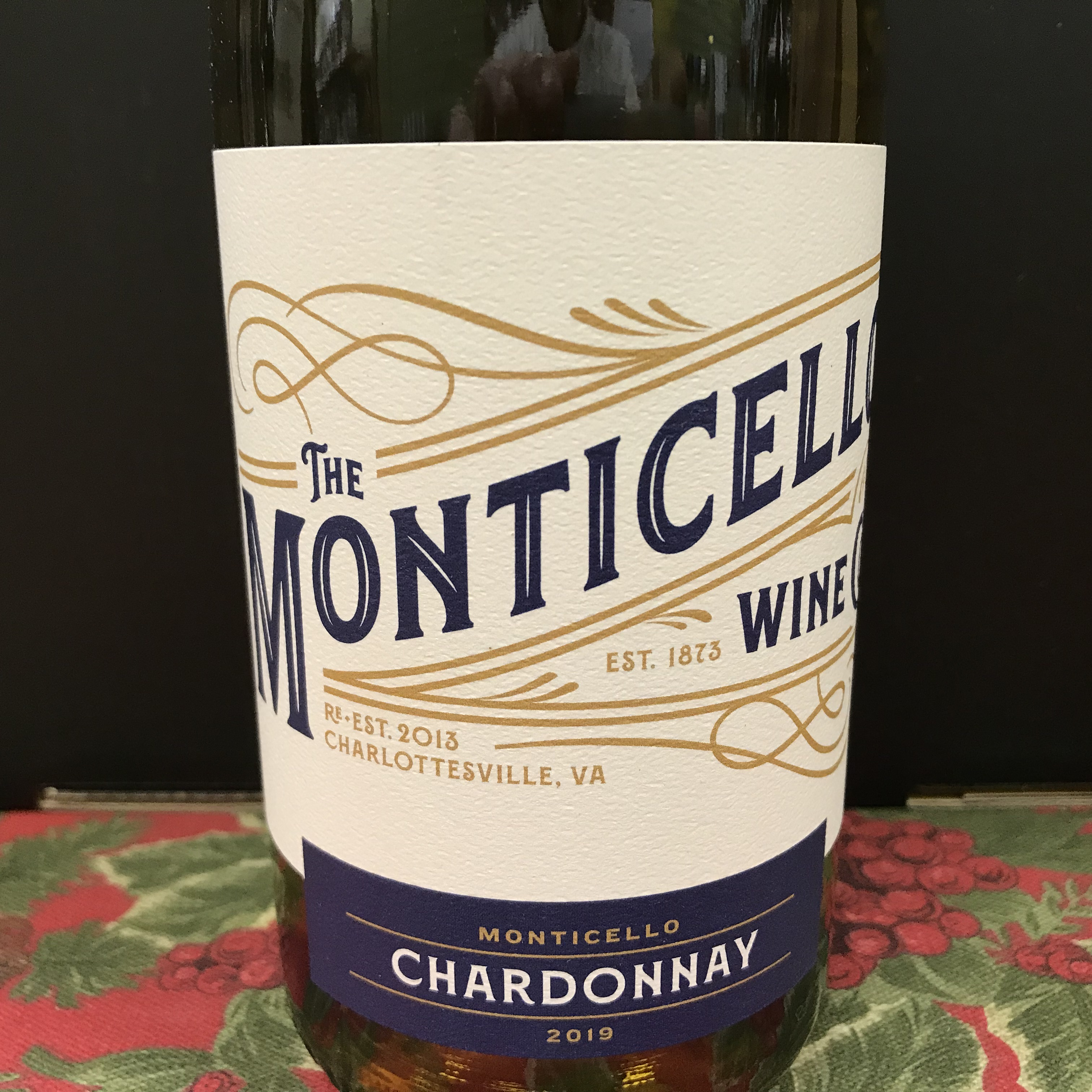 Monticello Wine Co. Chardonnay 2019