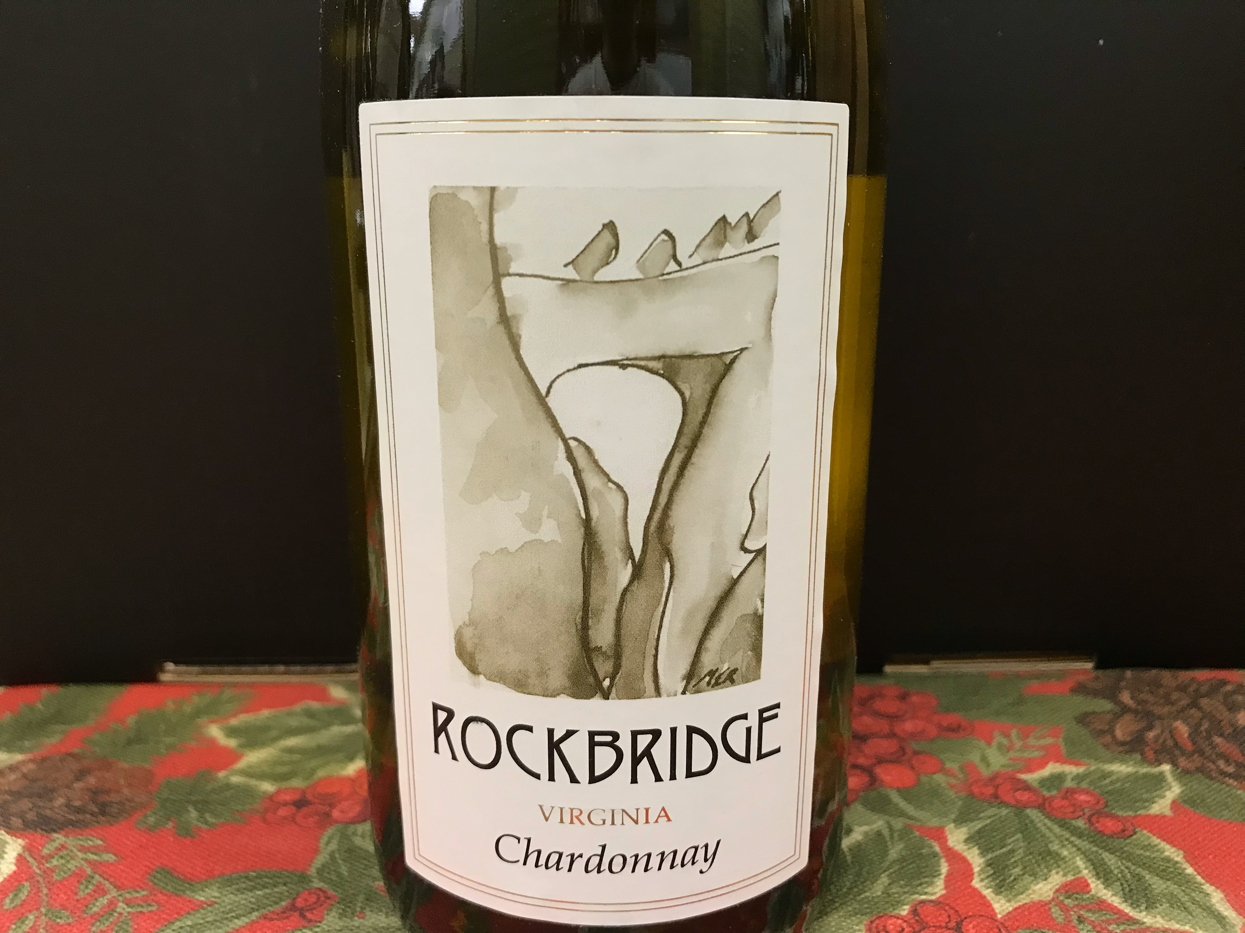 Rockbridge Vineyards Chardonnay 2015