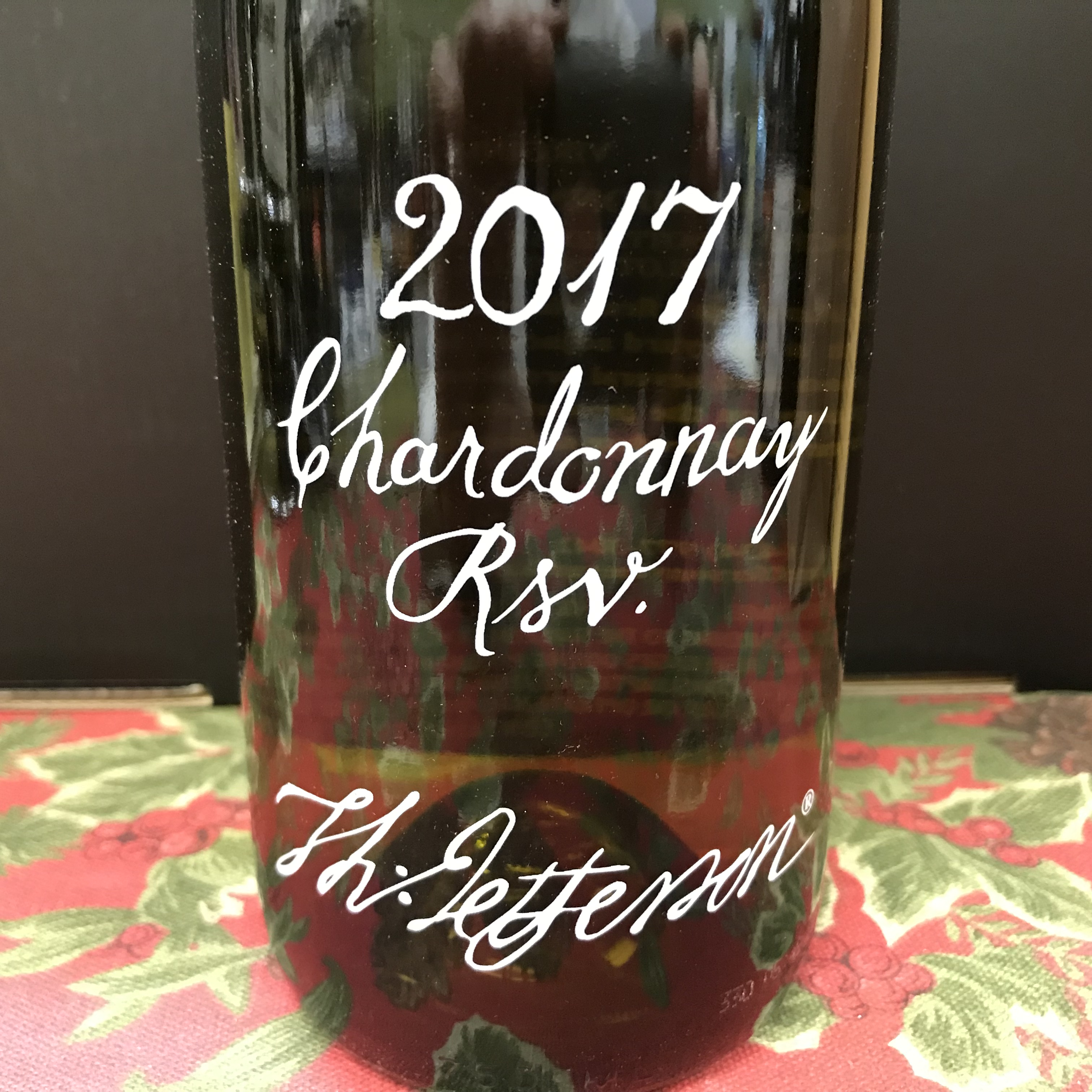 Jefferson Vineyards Reserve Chardonnay 2017