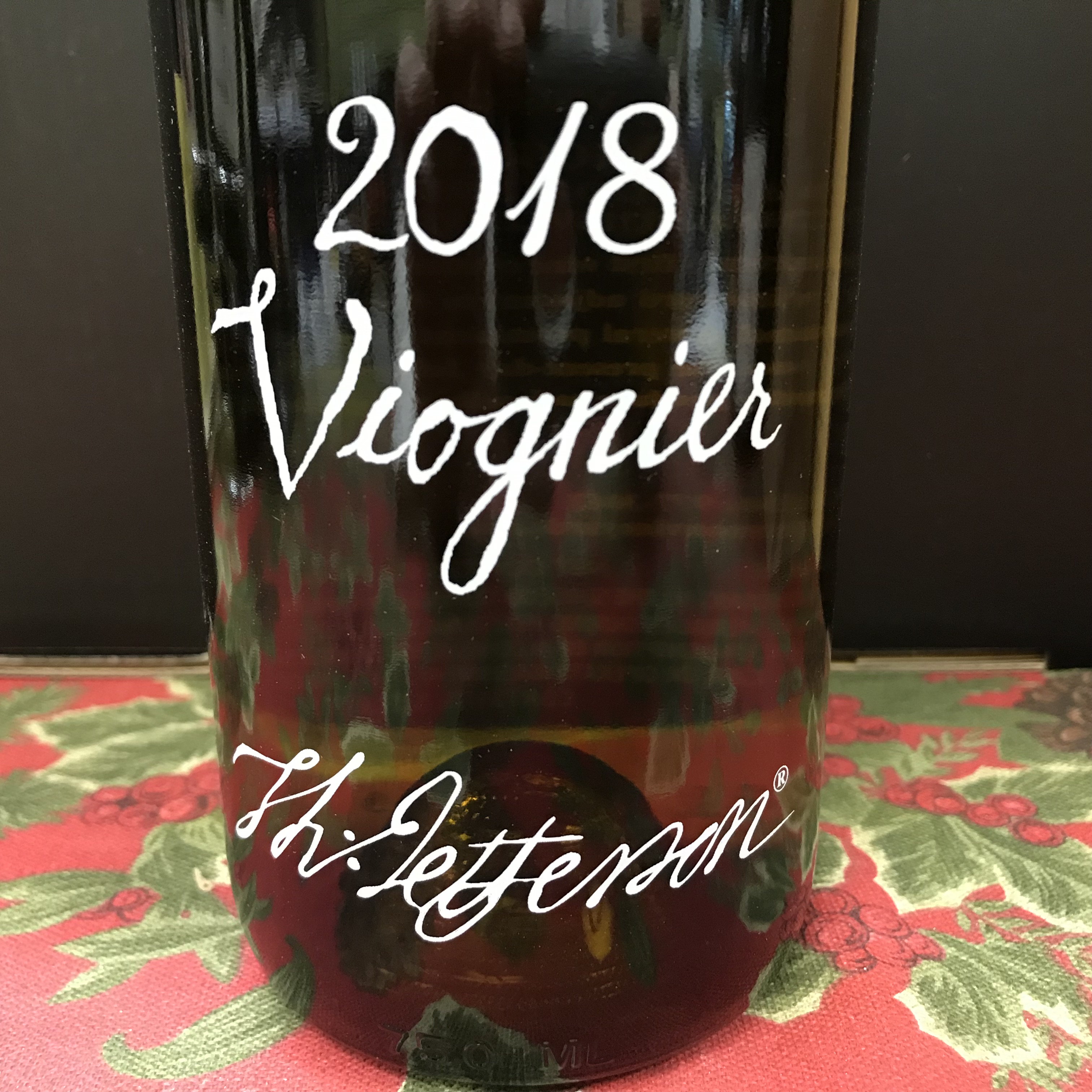 Jefferson Vineyards Viognier 2018