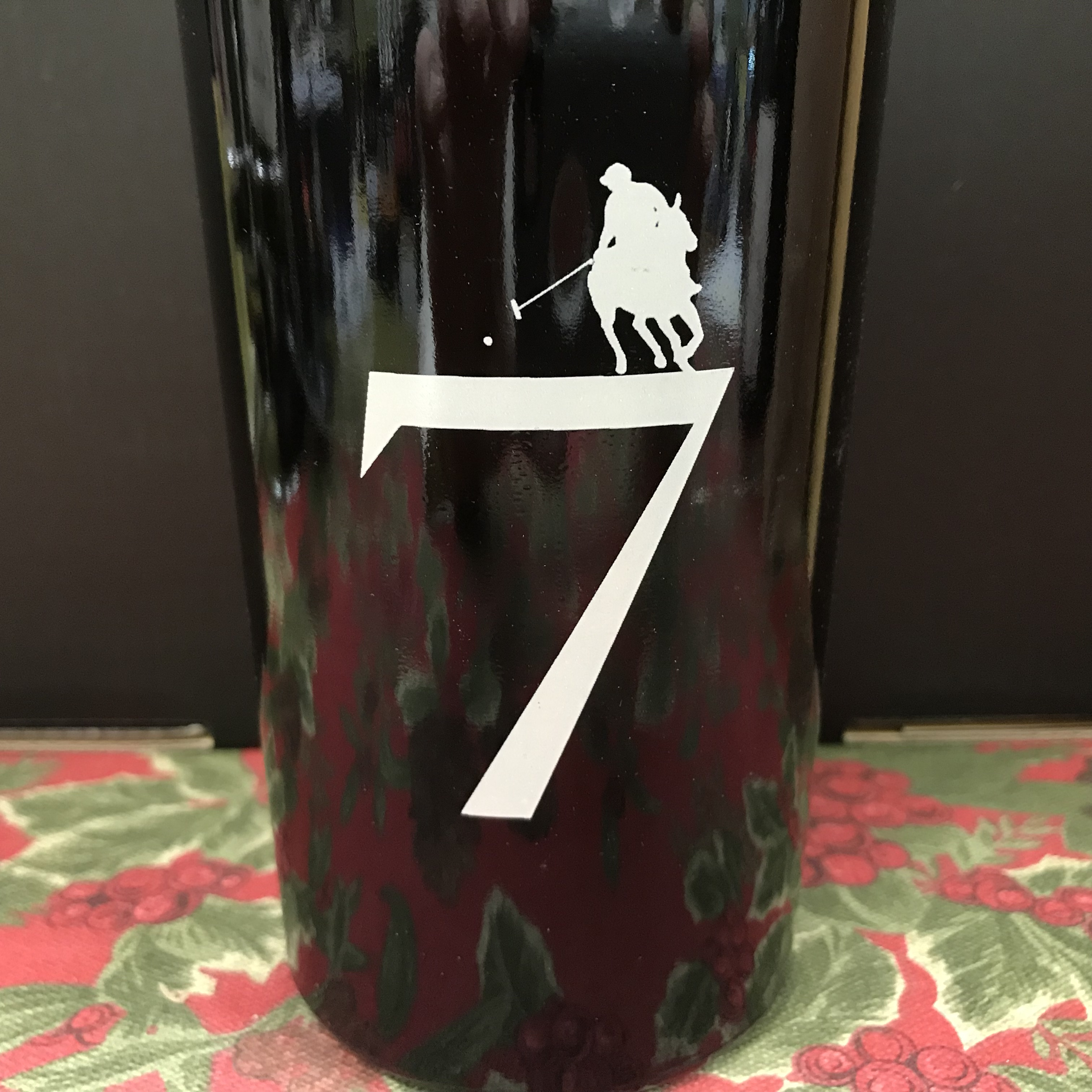 "King Family ""7"" port style red wine"