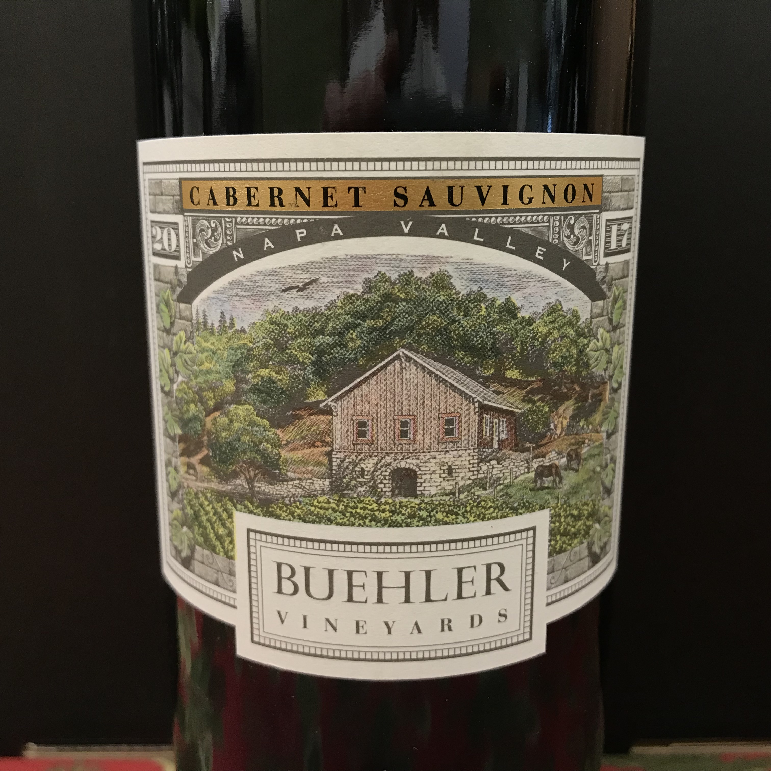 Buehler Vineyards Napa Valley Cabernet Sauvignon 2017