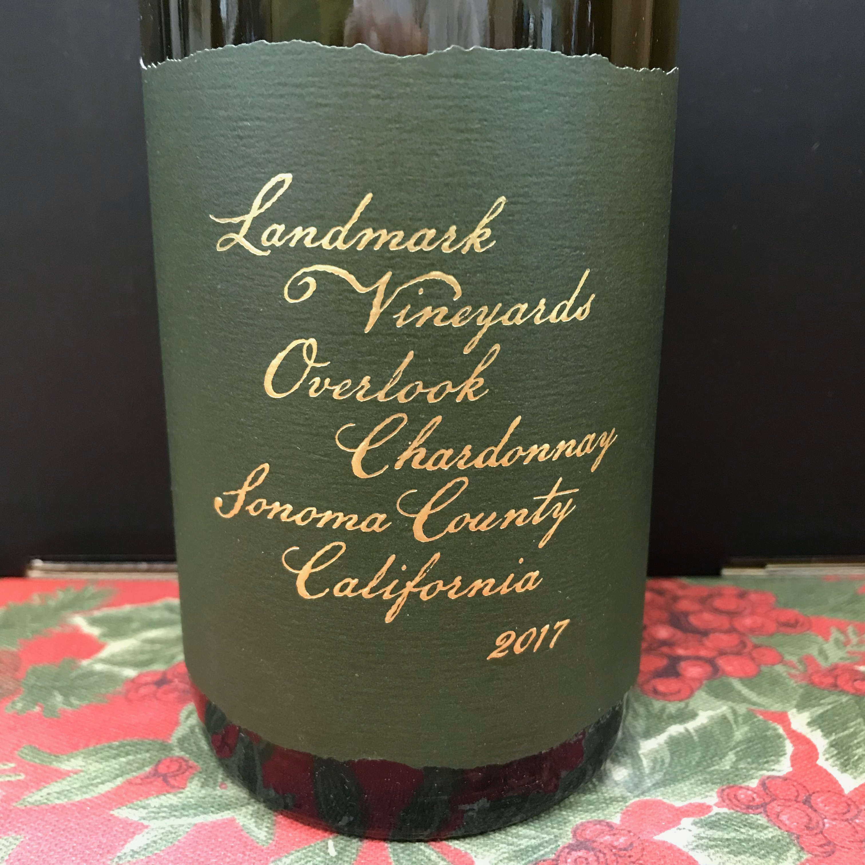 Landmark Chardonnay Overlook 2018