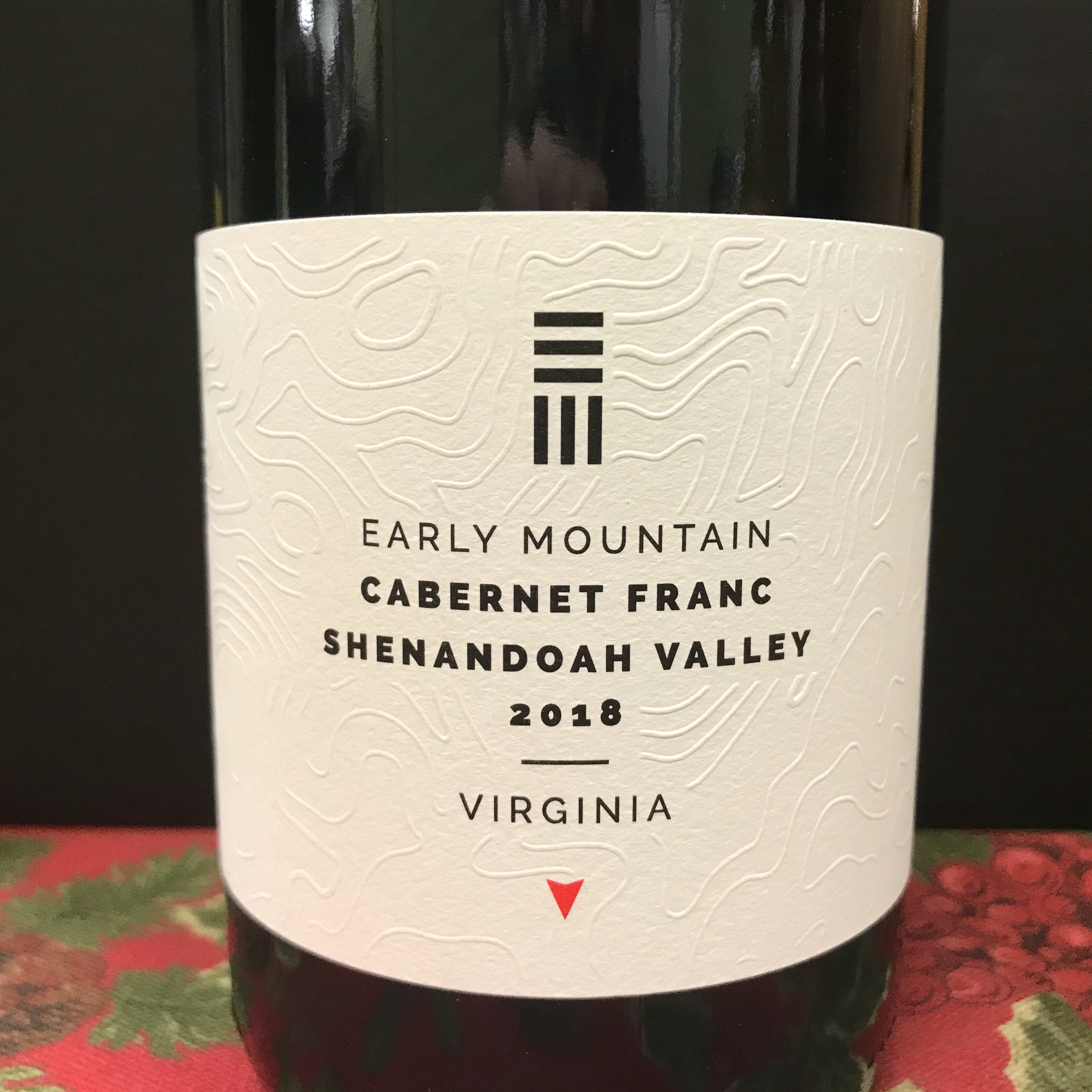 Early Mountain Cabernet Franc Shenandoah Valley 2018