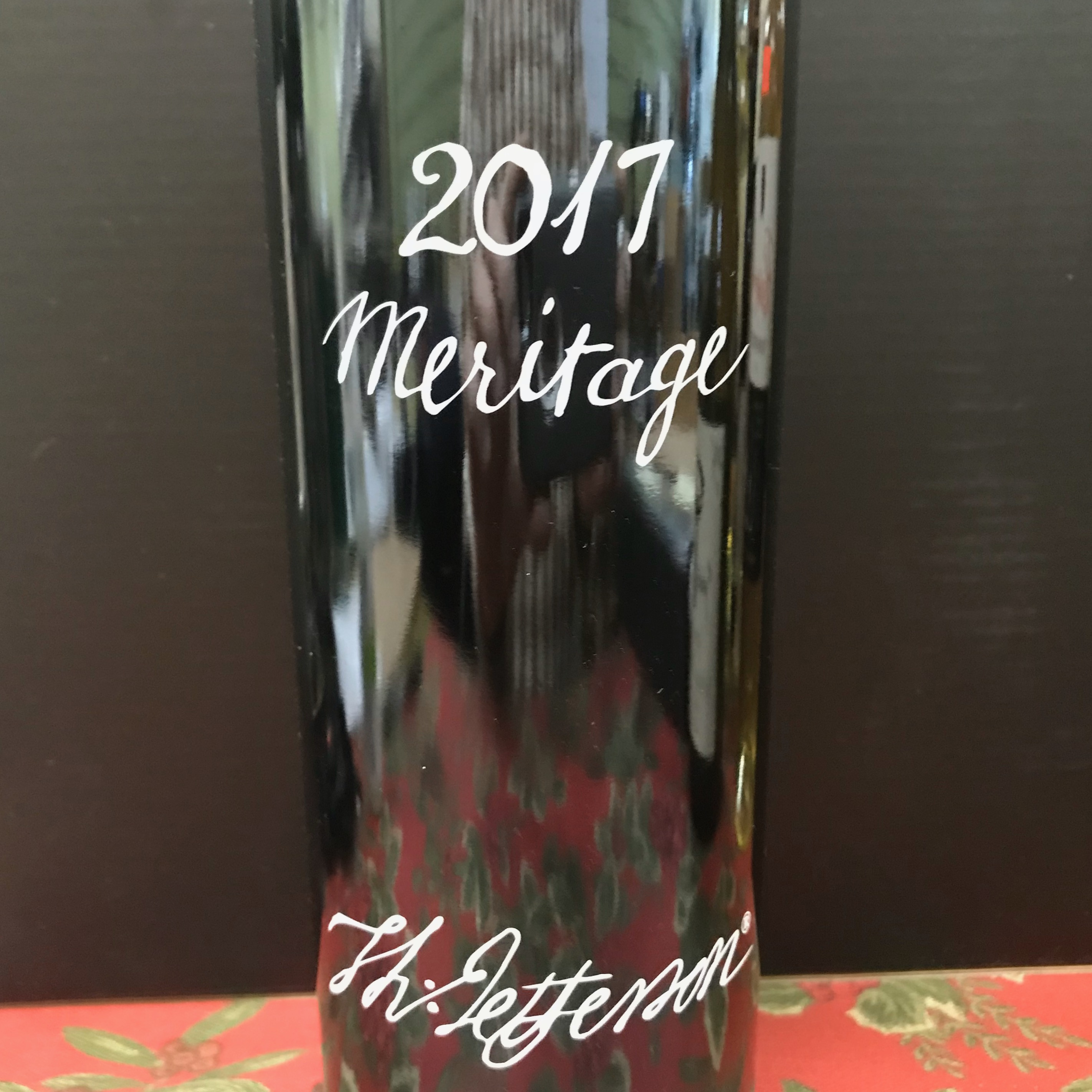 Jefferson Vineyards Meritage 2017