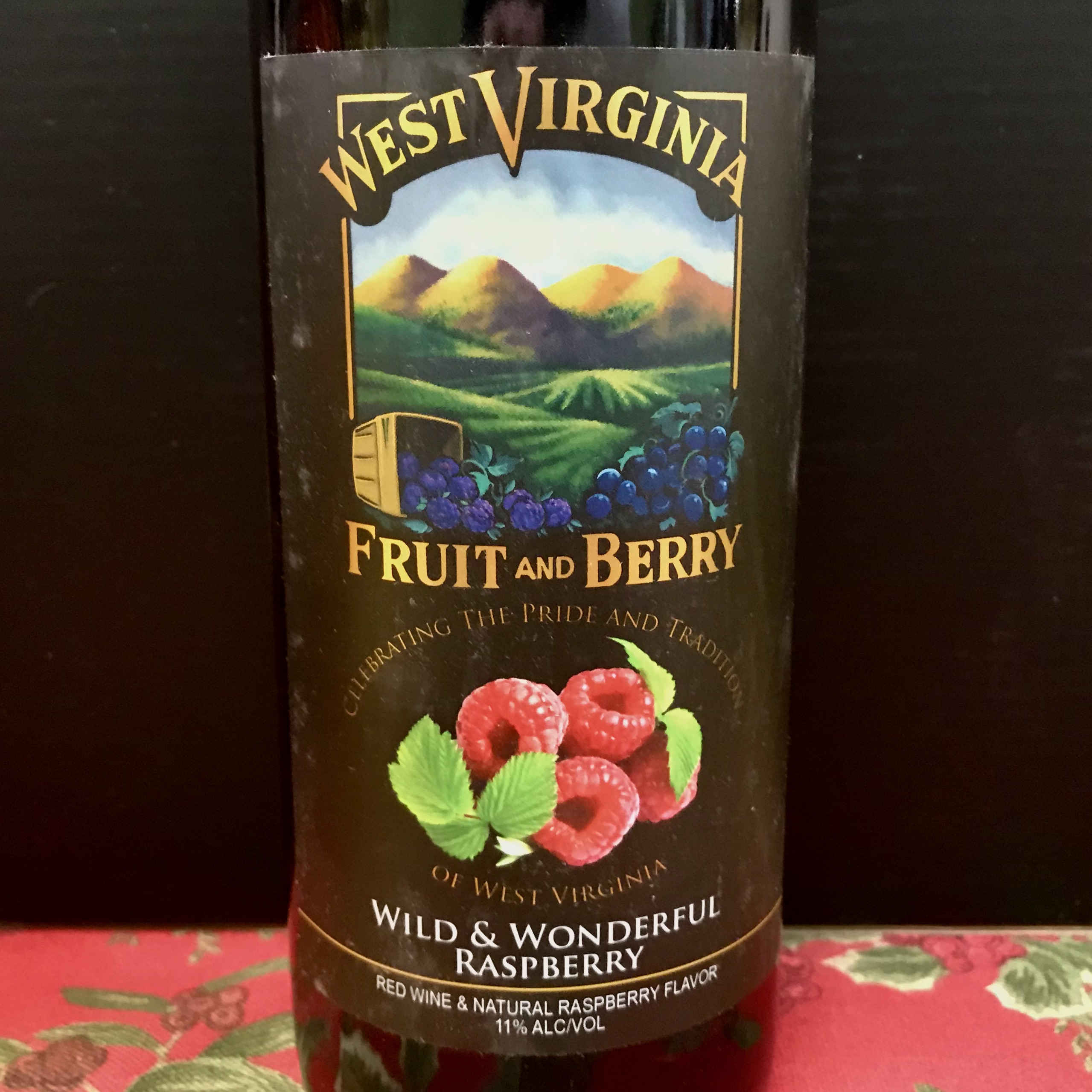 West Virginia Fruit & Berry Wild Wonderful Raspberry