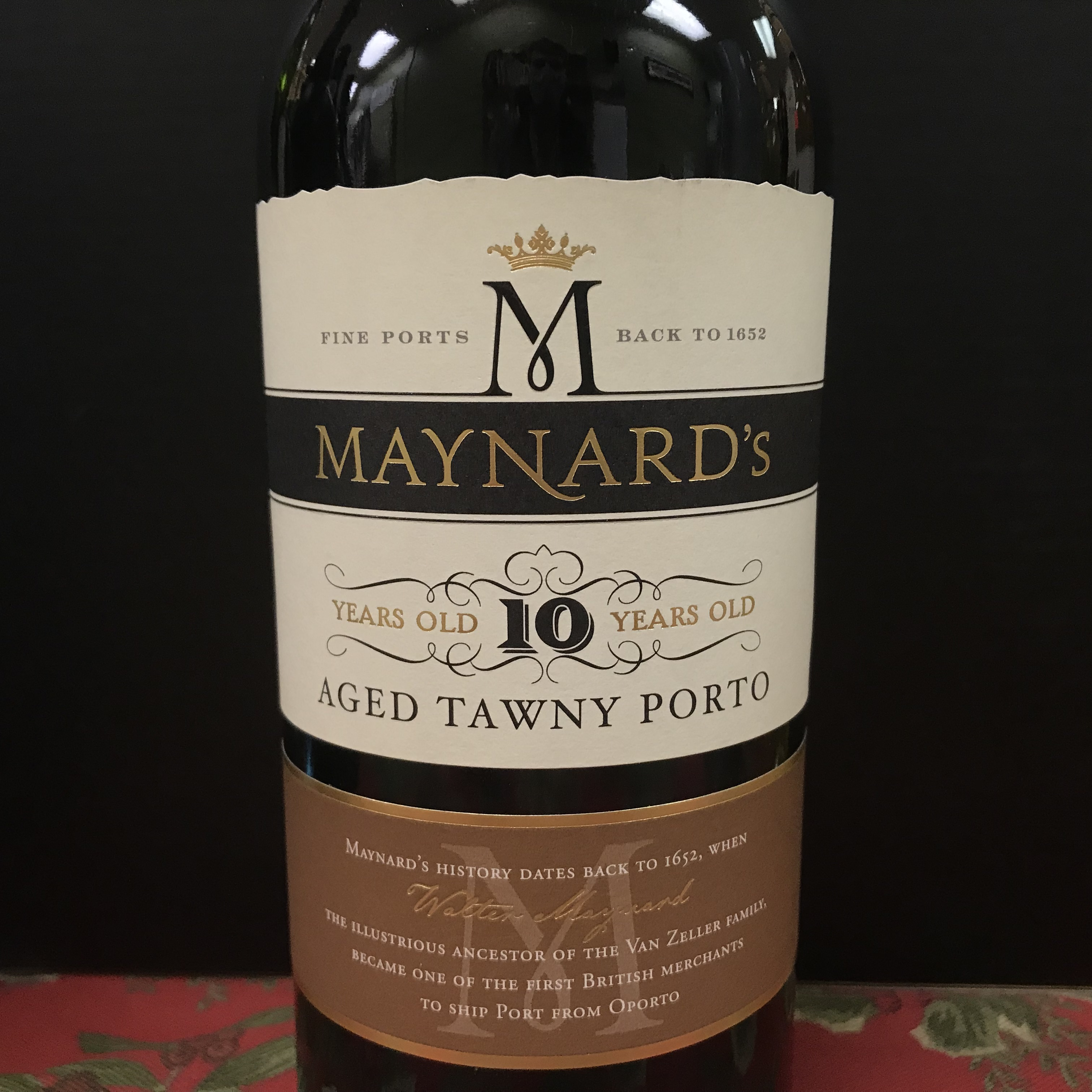 Maynard's 10 Years Old Aged Tawny Porto NV
