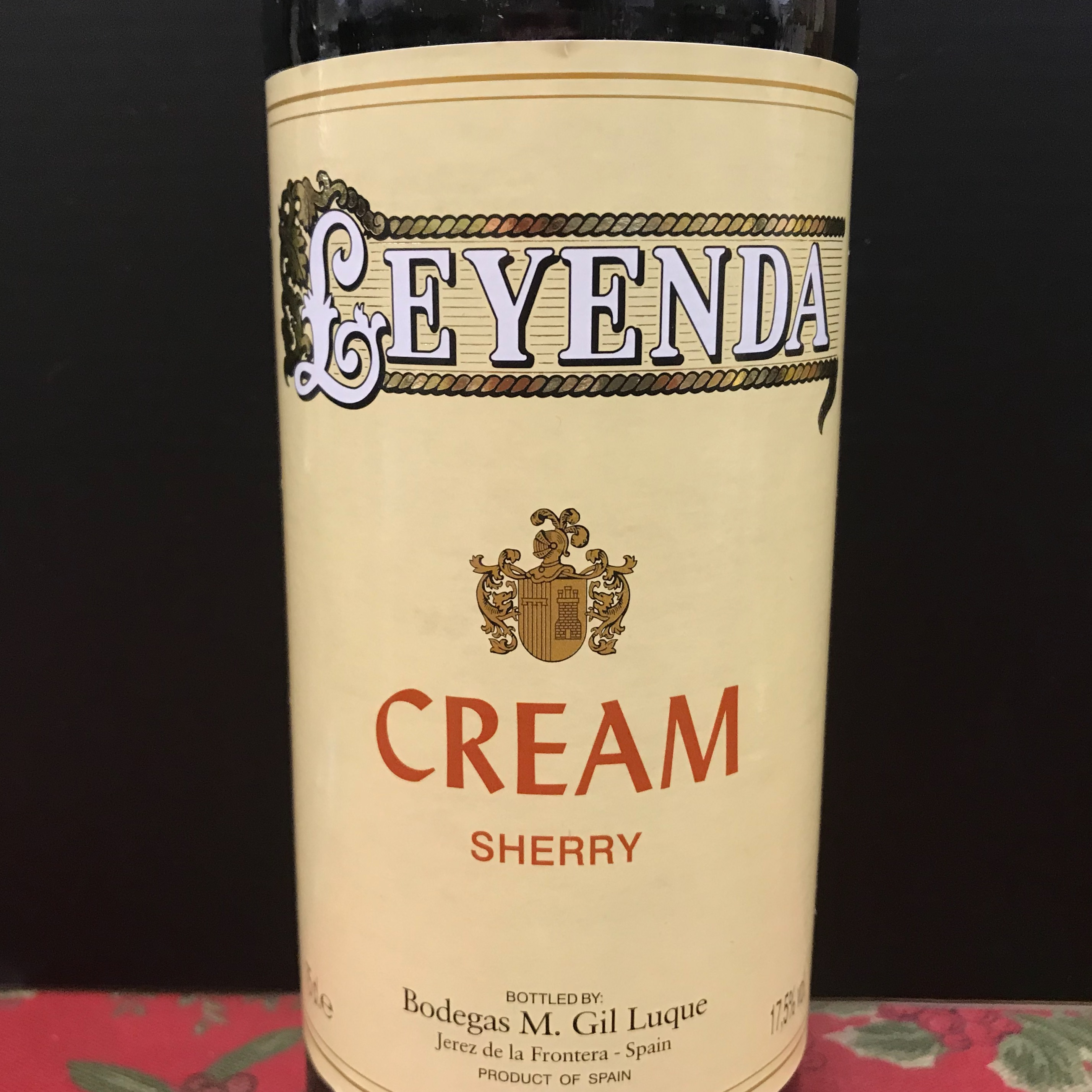 Leyenda Cream Sherry