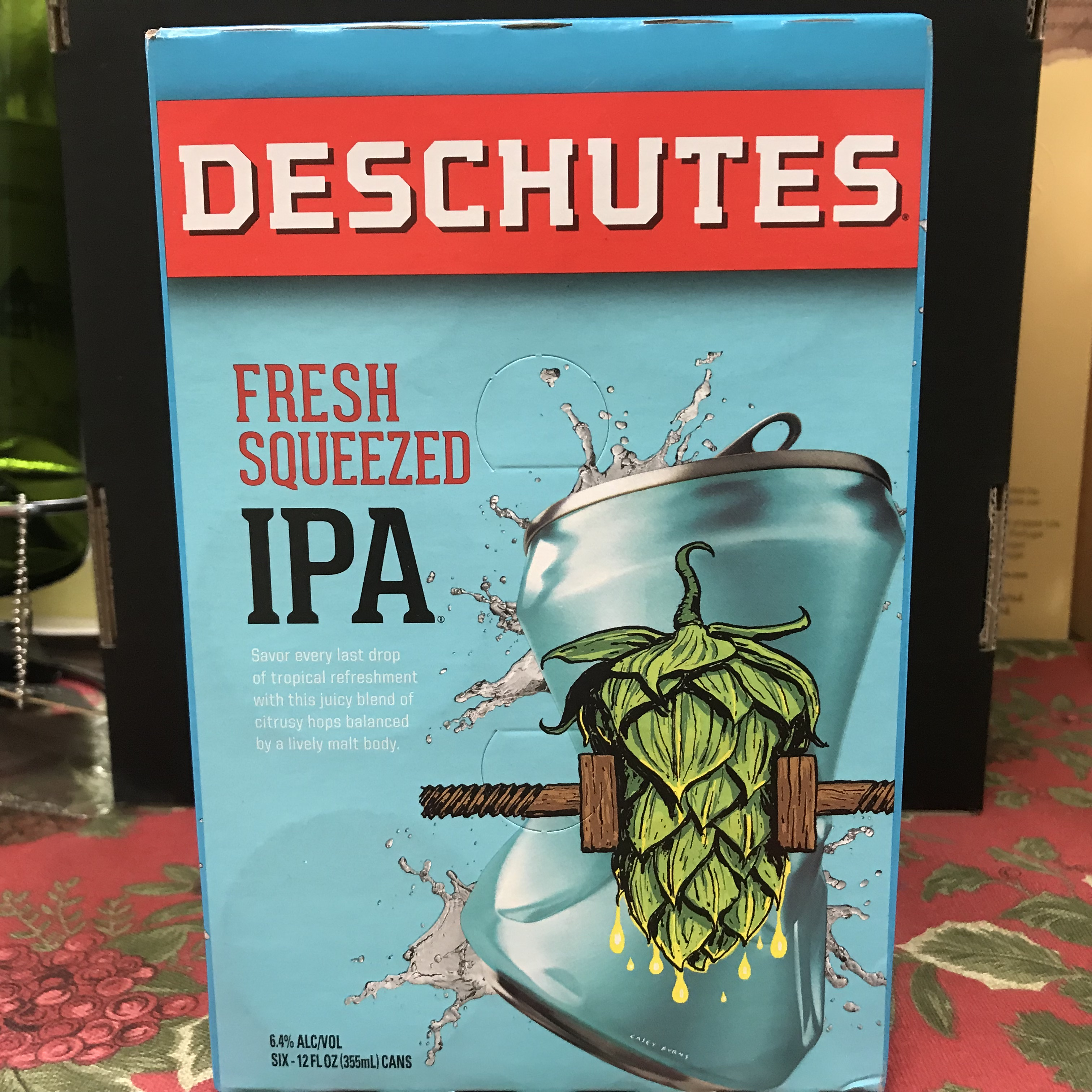 Deschutes Fresh Squeezed IPA 6 pack 12oz cans