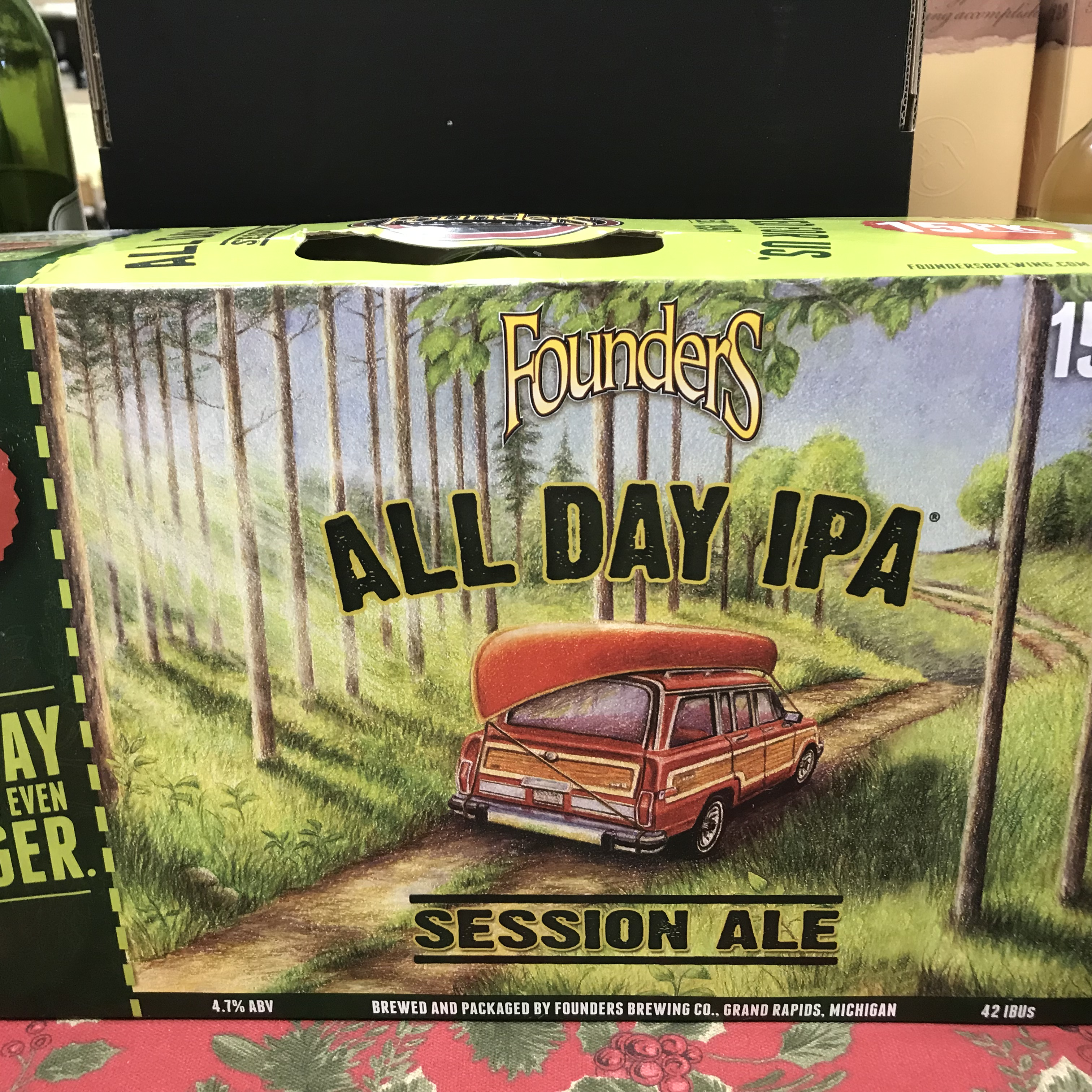 Founders All Day IPA Session 12 pack 12oz cans
