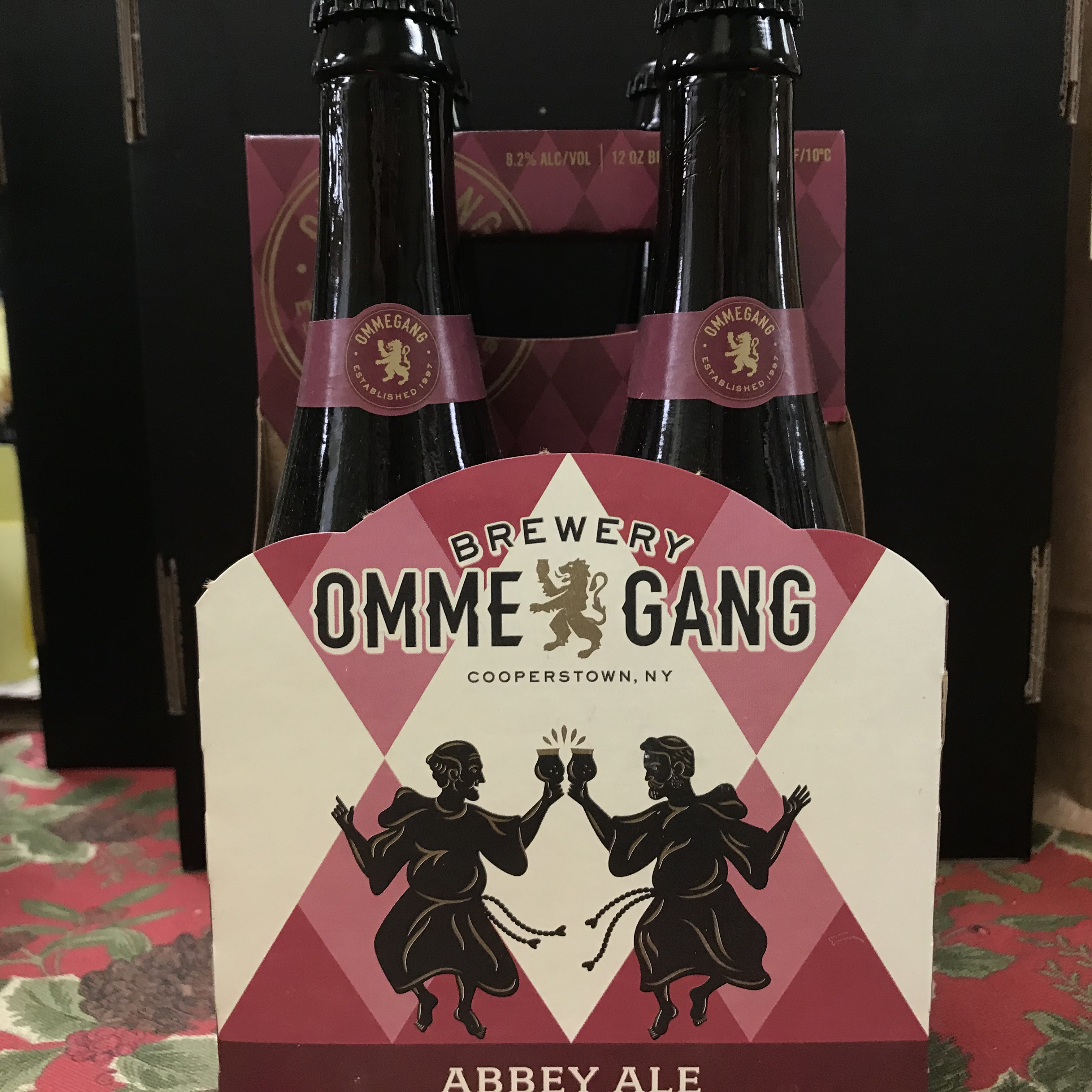 Ommegang Abbey Ale Double Ale w Licorice root & spices 4 x 12oz