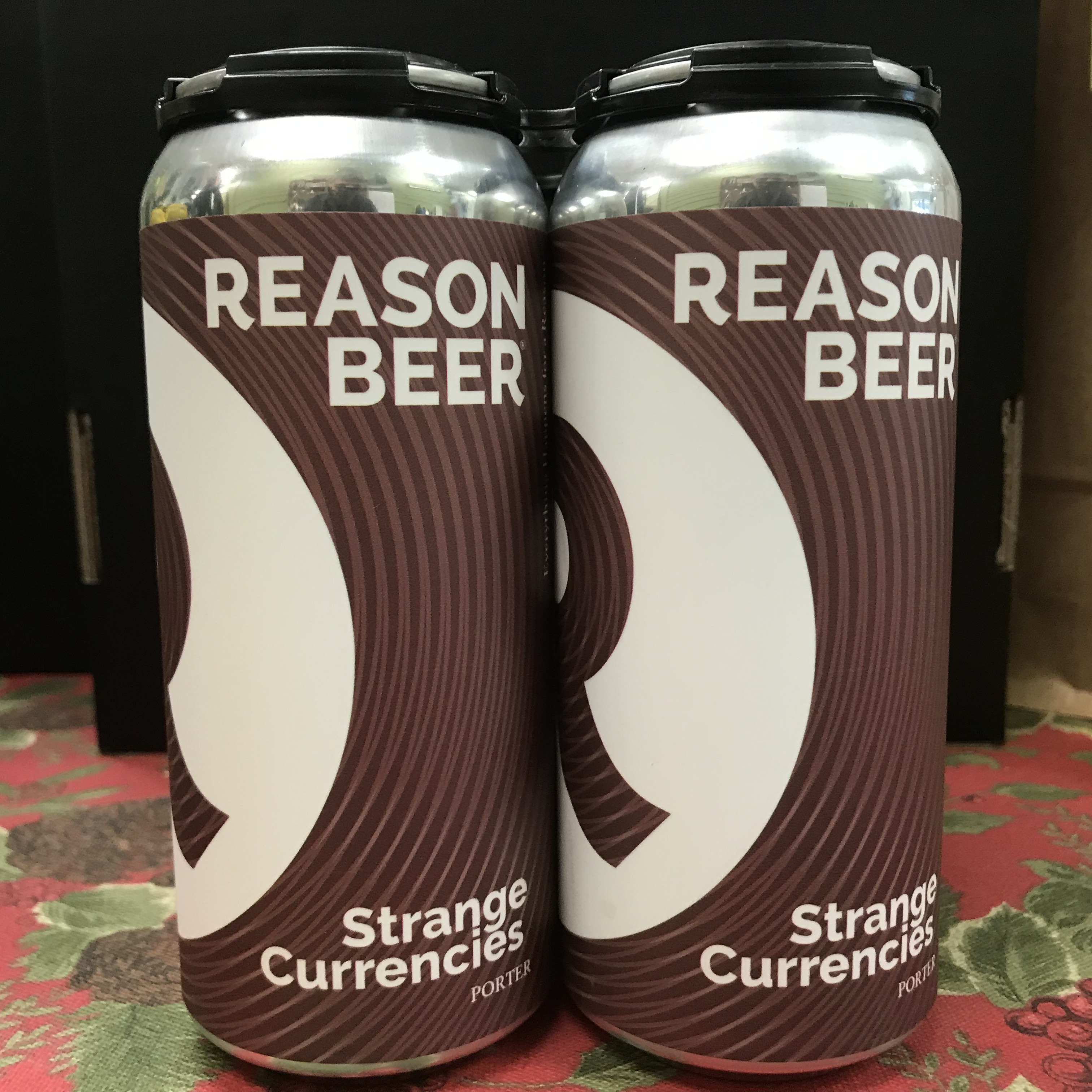 Reason Strange Currencies Porter 4 x 1 pint cans