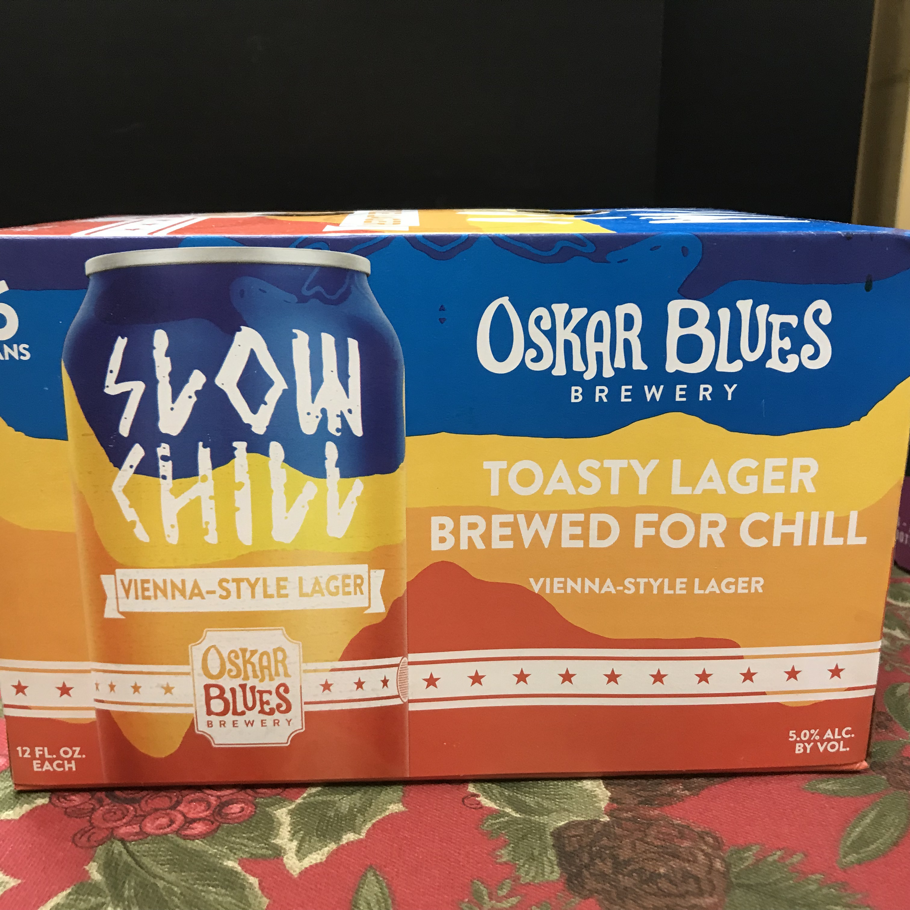 Oskar Blues Slow Chill Vienna-style Lager 6 x 12oz cans