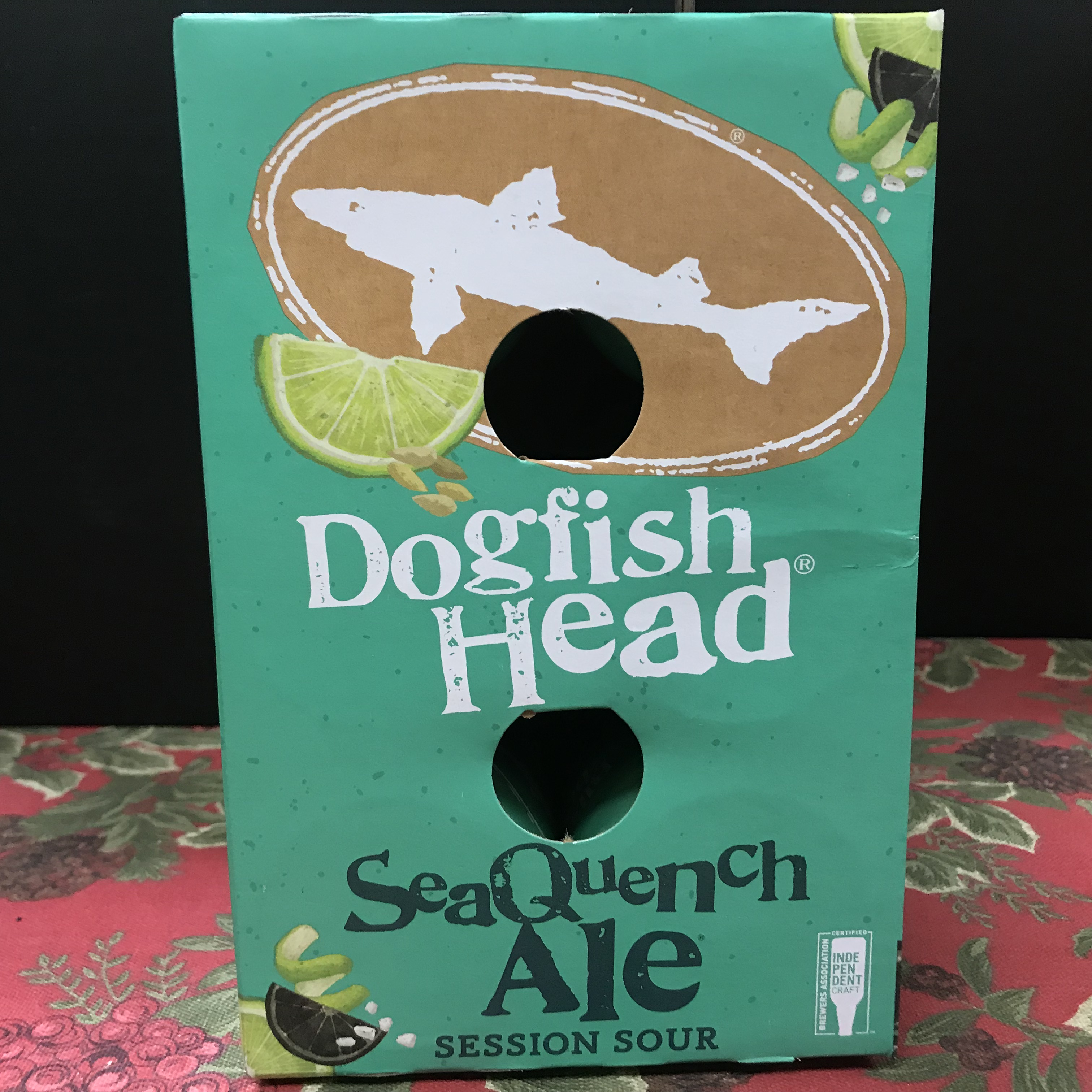 Dogfish Head SeaQuench Session Sour Ale 6 x 12oz cans