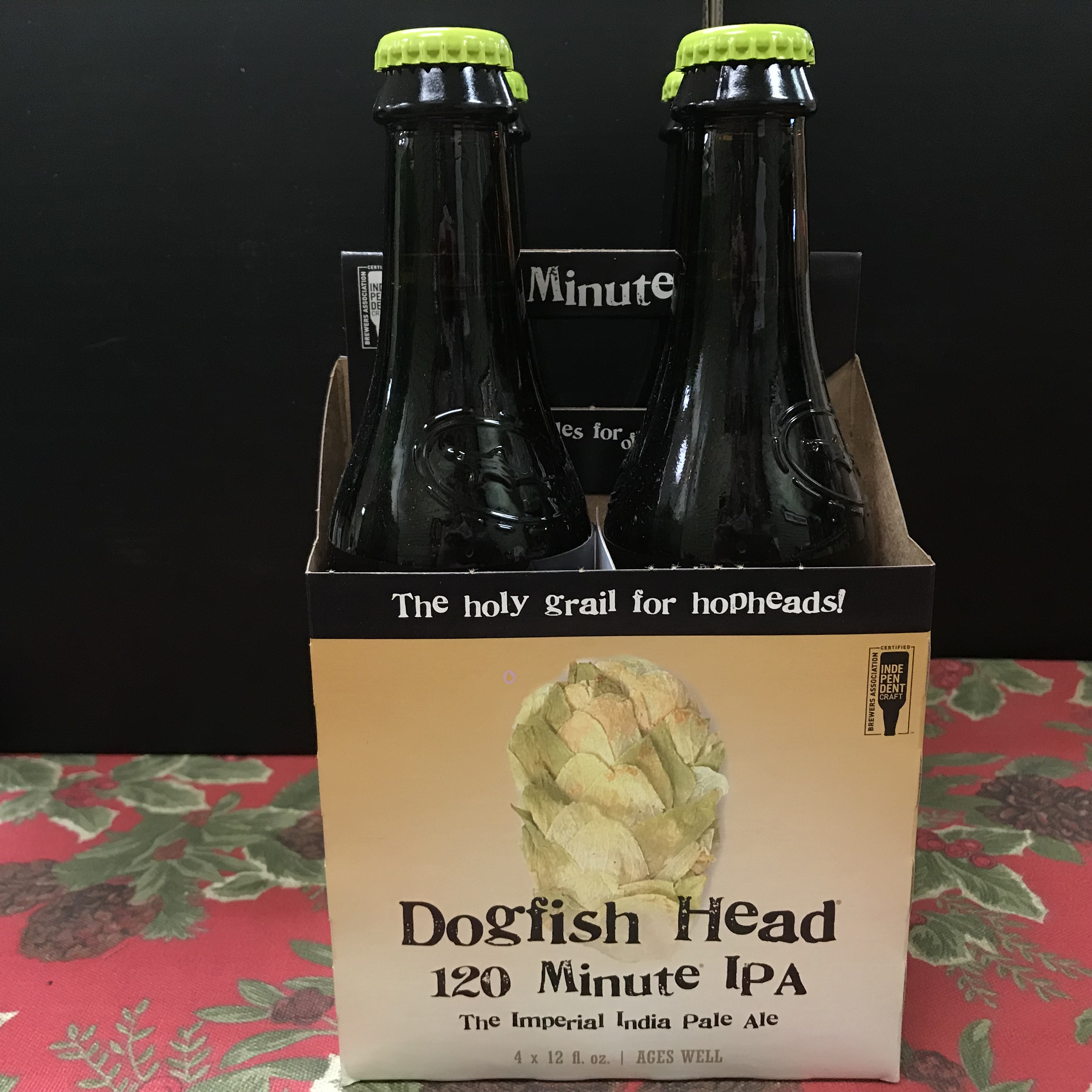 Dogfish Head 120 Minute Imperial IPA 4 x 12oz bottles