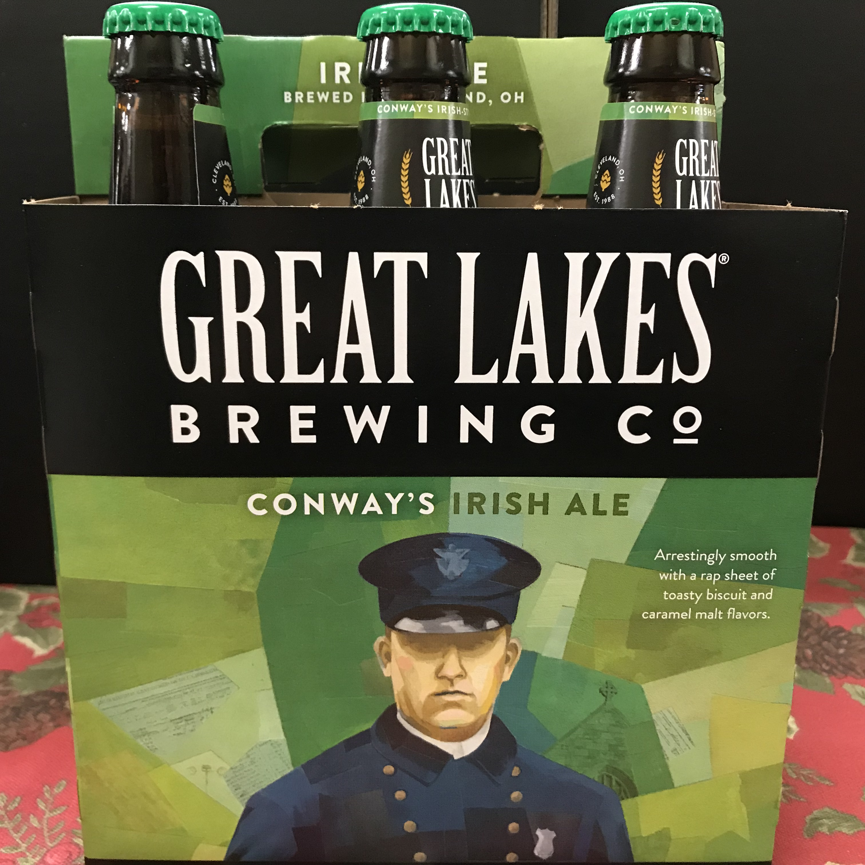 Great Lakes Conway's Irish Ale 6 x 12oz bottles