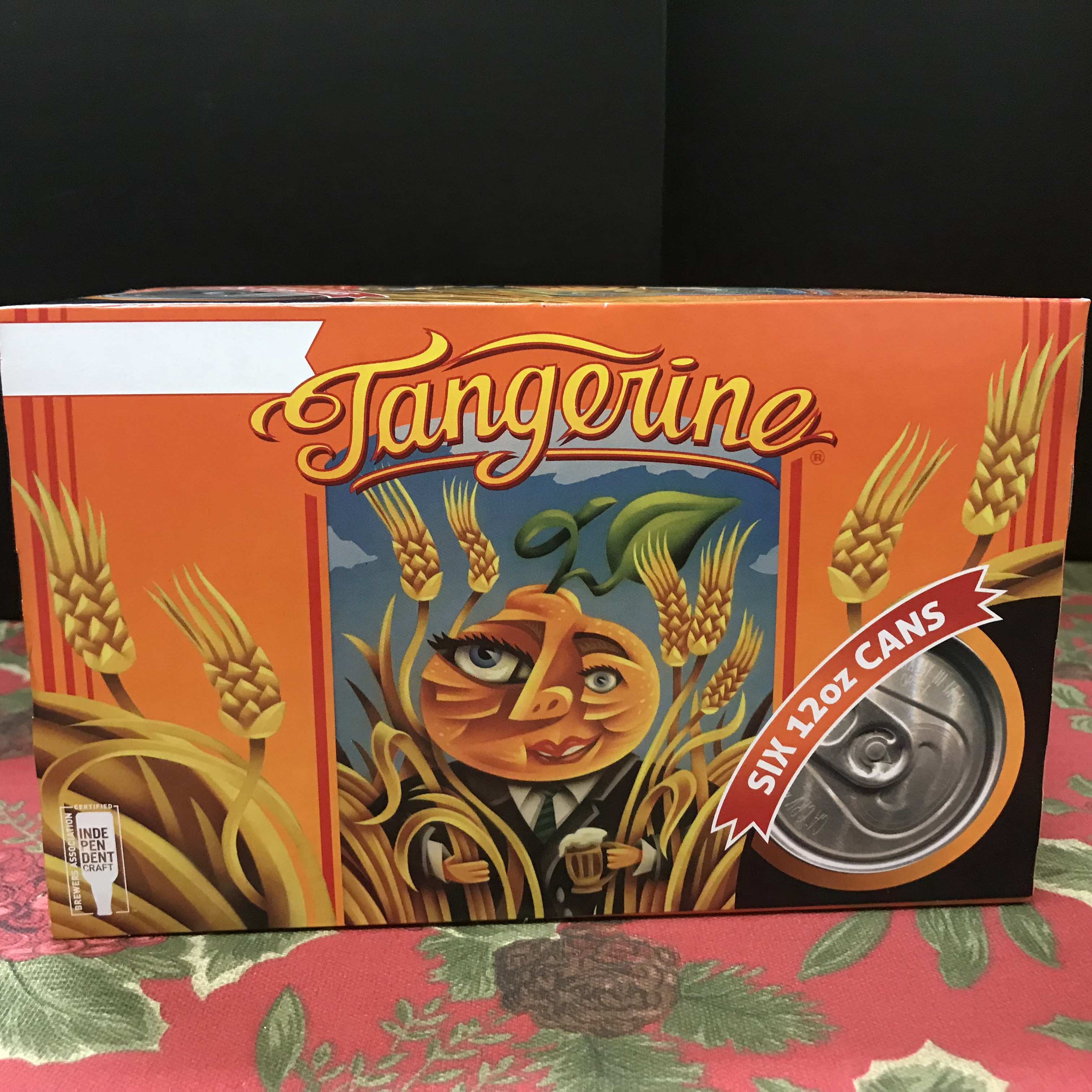 Lost Coast Tangerine Ale 6 x 12oz cans