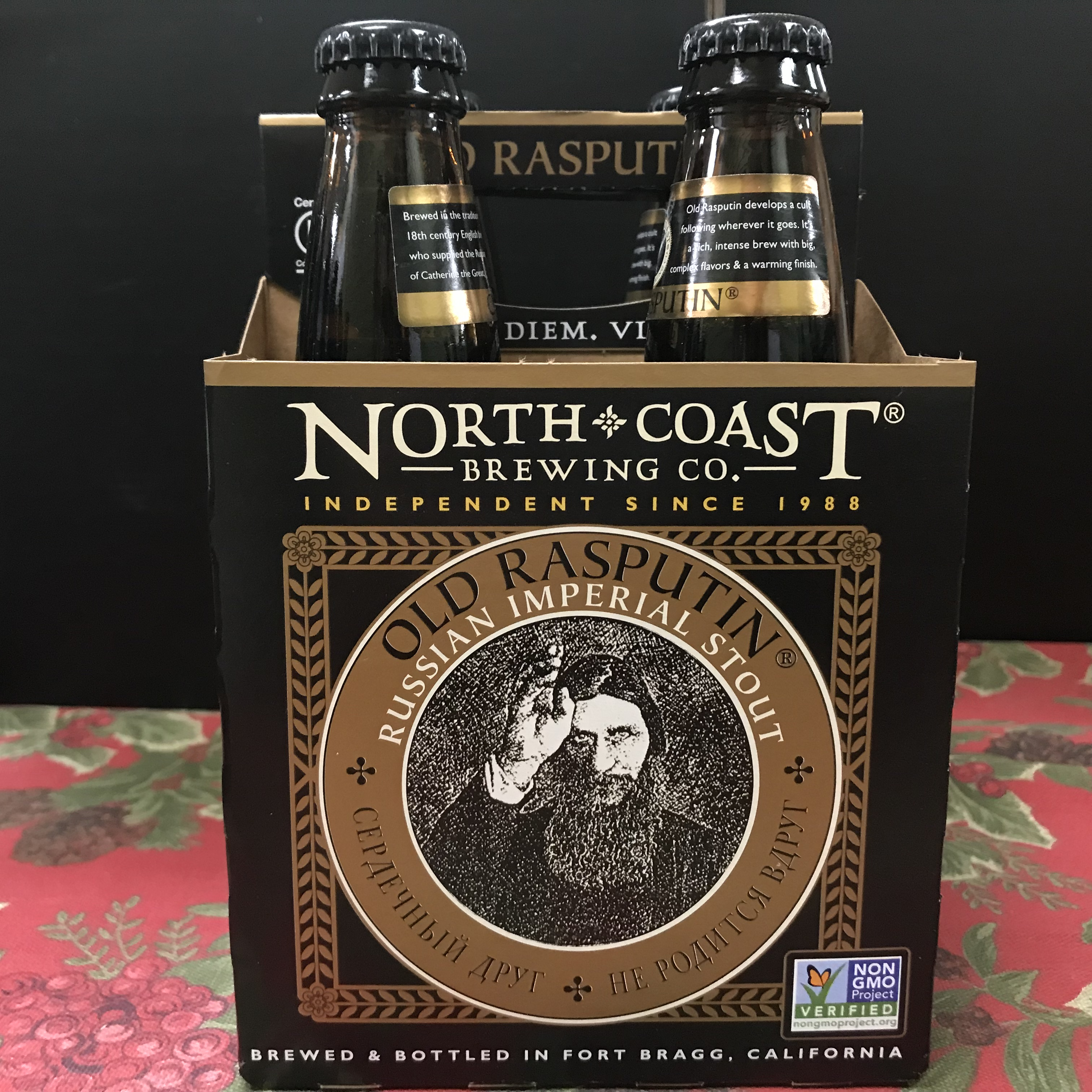 North Coast Old Rasputin Russian Imperial Stout 4 x 12oz bottle