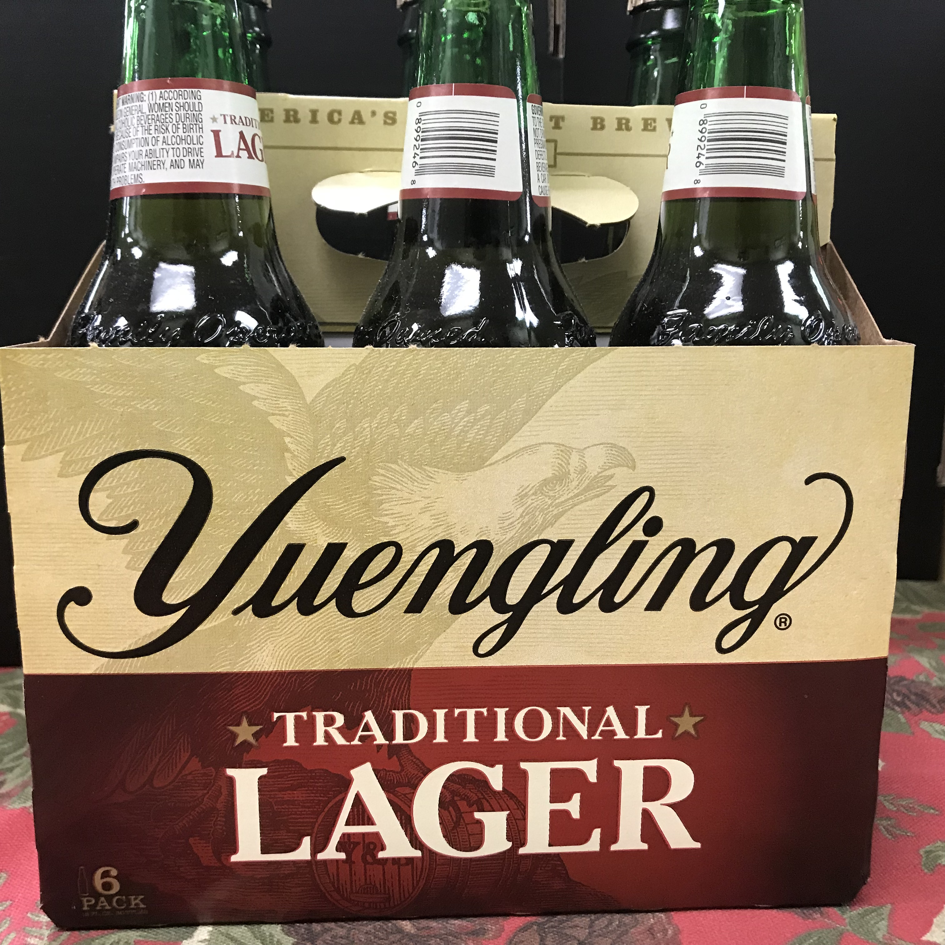 Yuengling Traditional Lager 6 x 12oz