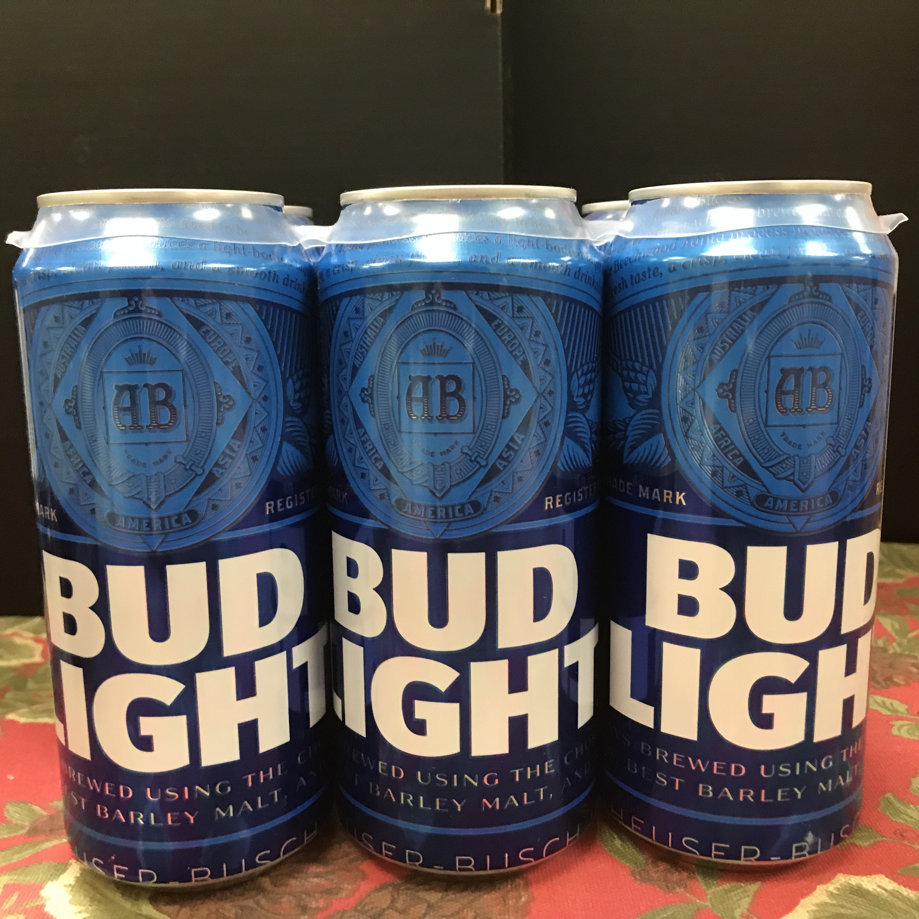 Budweiser Bud Light 6 x 16 oz cans