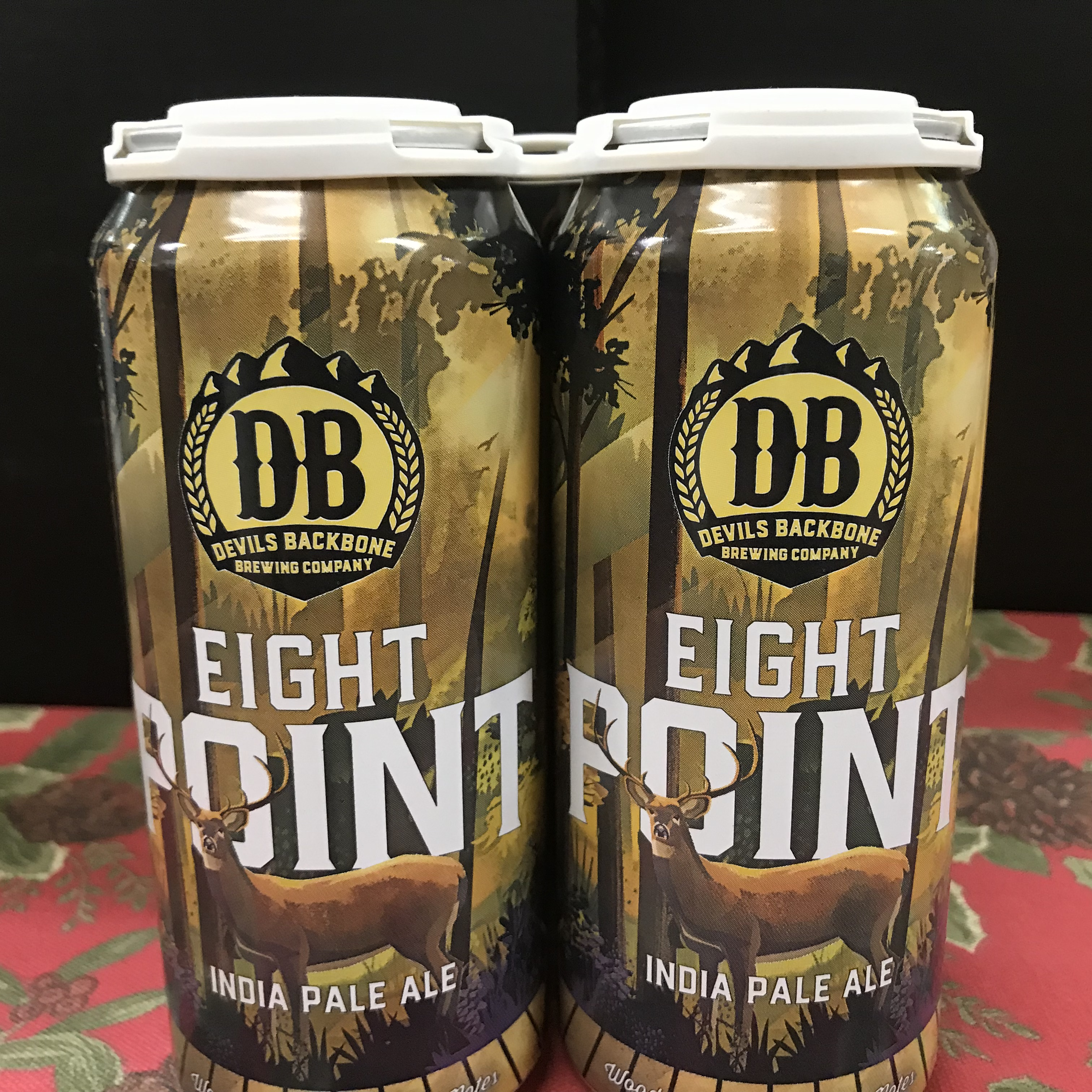 Devil's Backbone Eight Point IPA 4 x 1 pint cans
