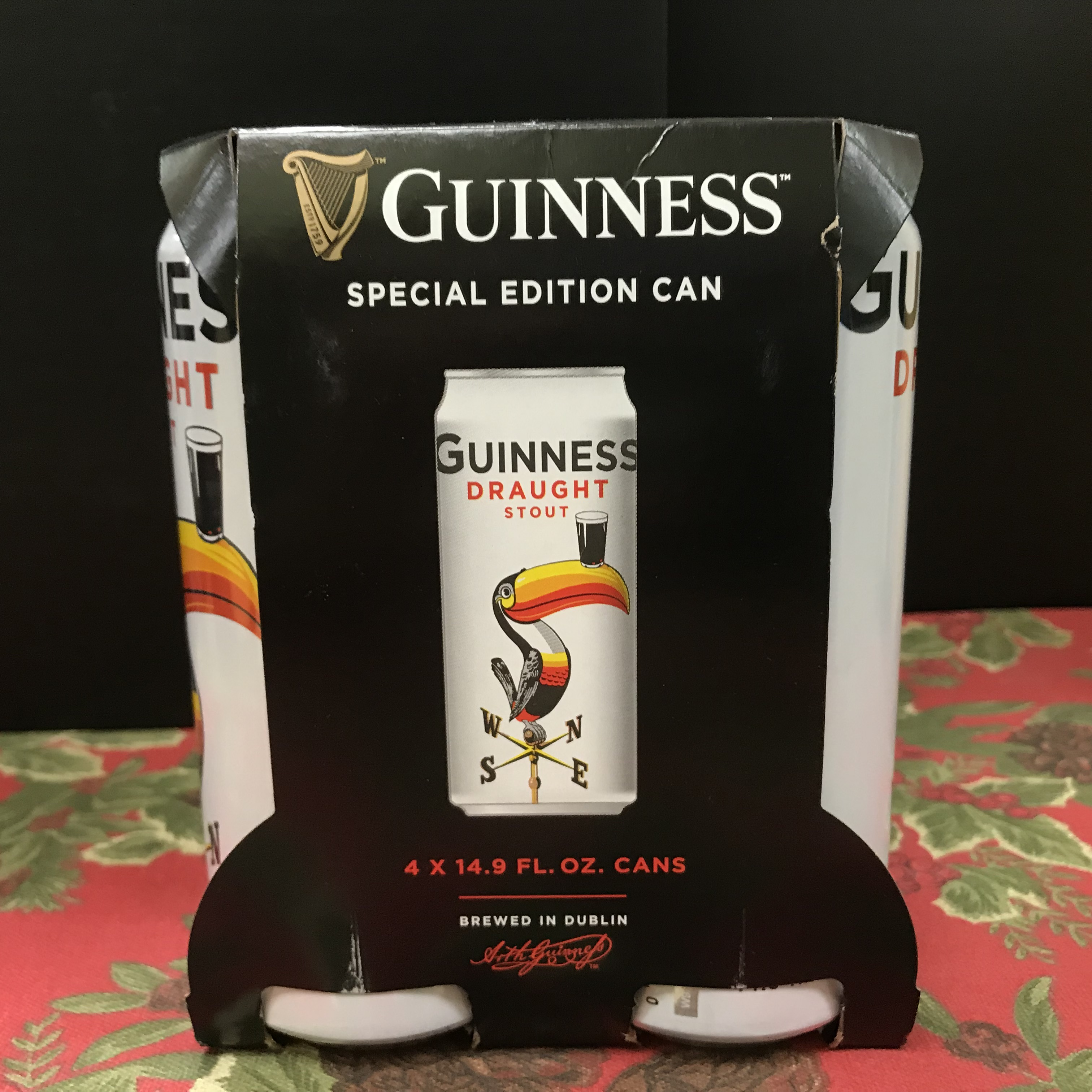 Guinness Special Edition Draught Stout 4 x 16oz