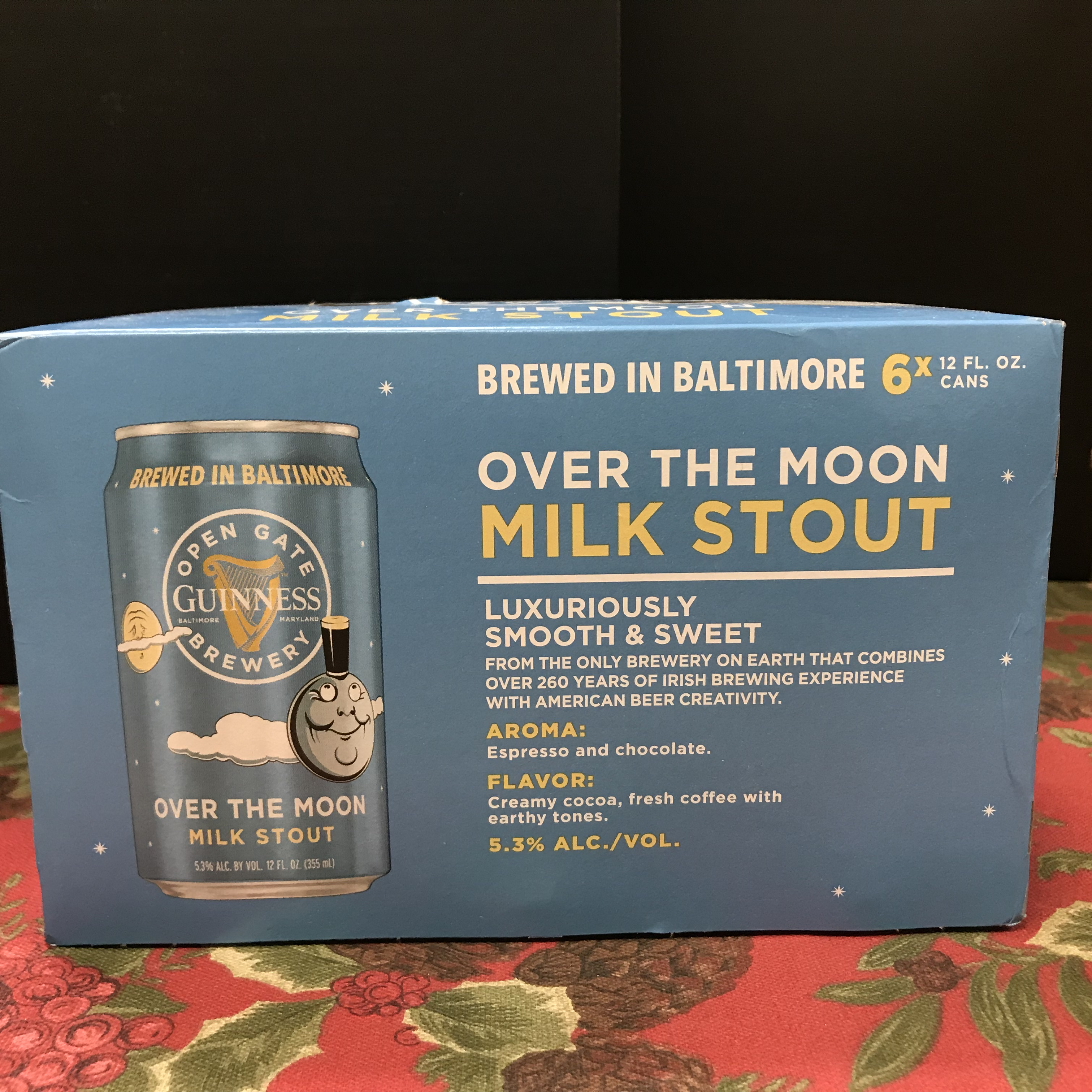 Guinness Over the Moon Milk Stout 6 x 12oz