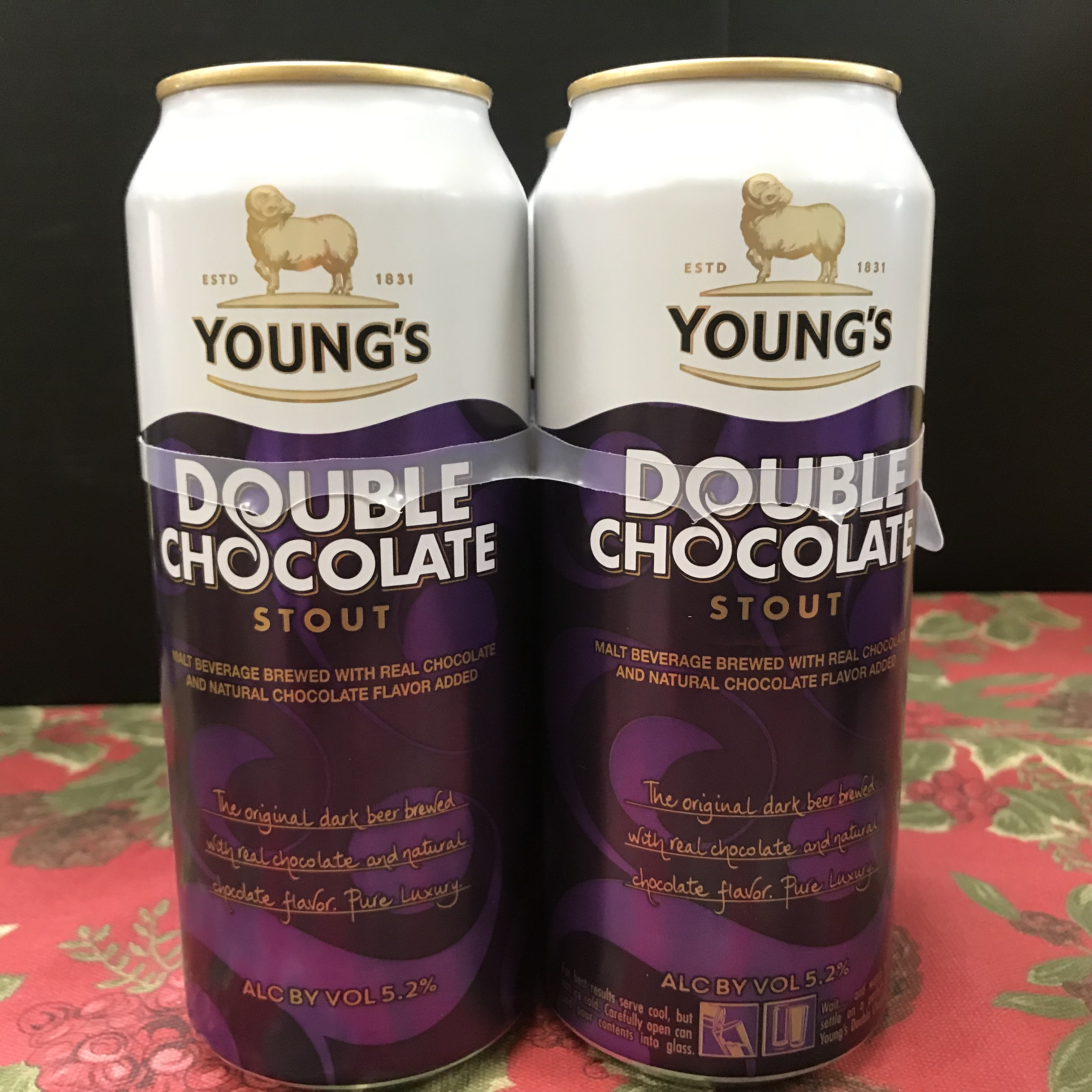 Young's Double Chocolate Stout 4 x 1 pint
