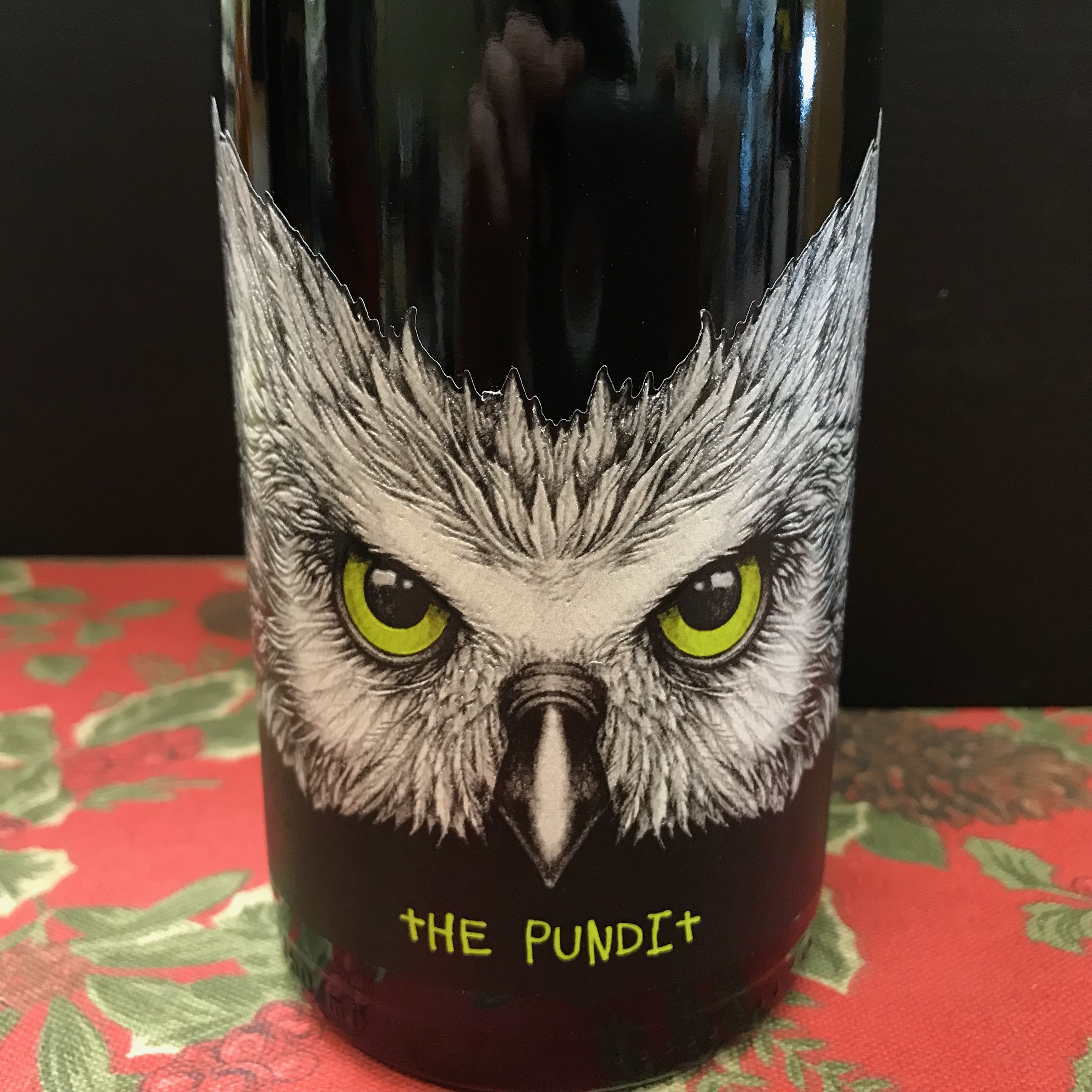 Chateau Ste.Michelle THE PUNDIT Columbia V. Syrah 2016