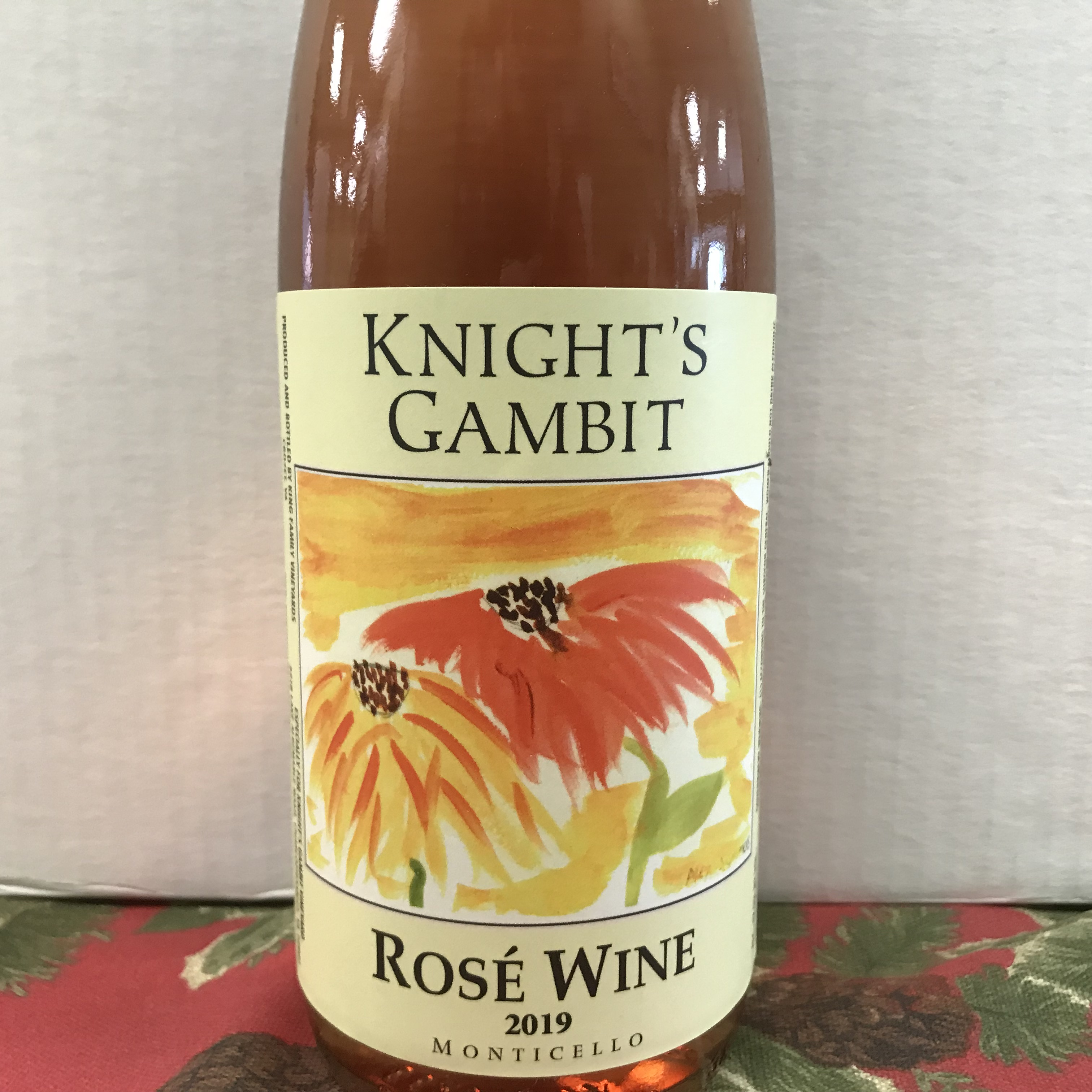 Knight's Gambit Rose Monticello 2019