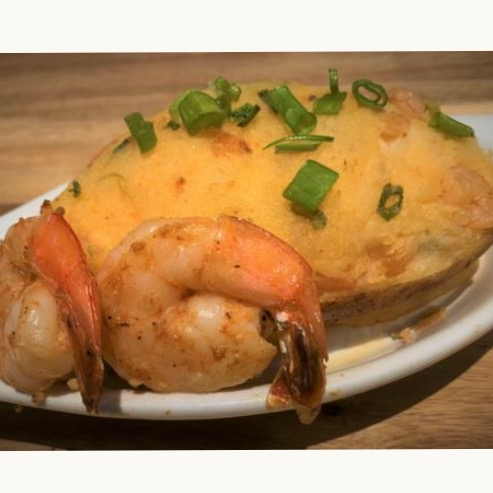 Shrimp Stuffed Baked Potato