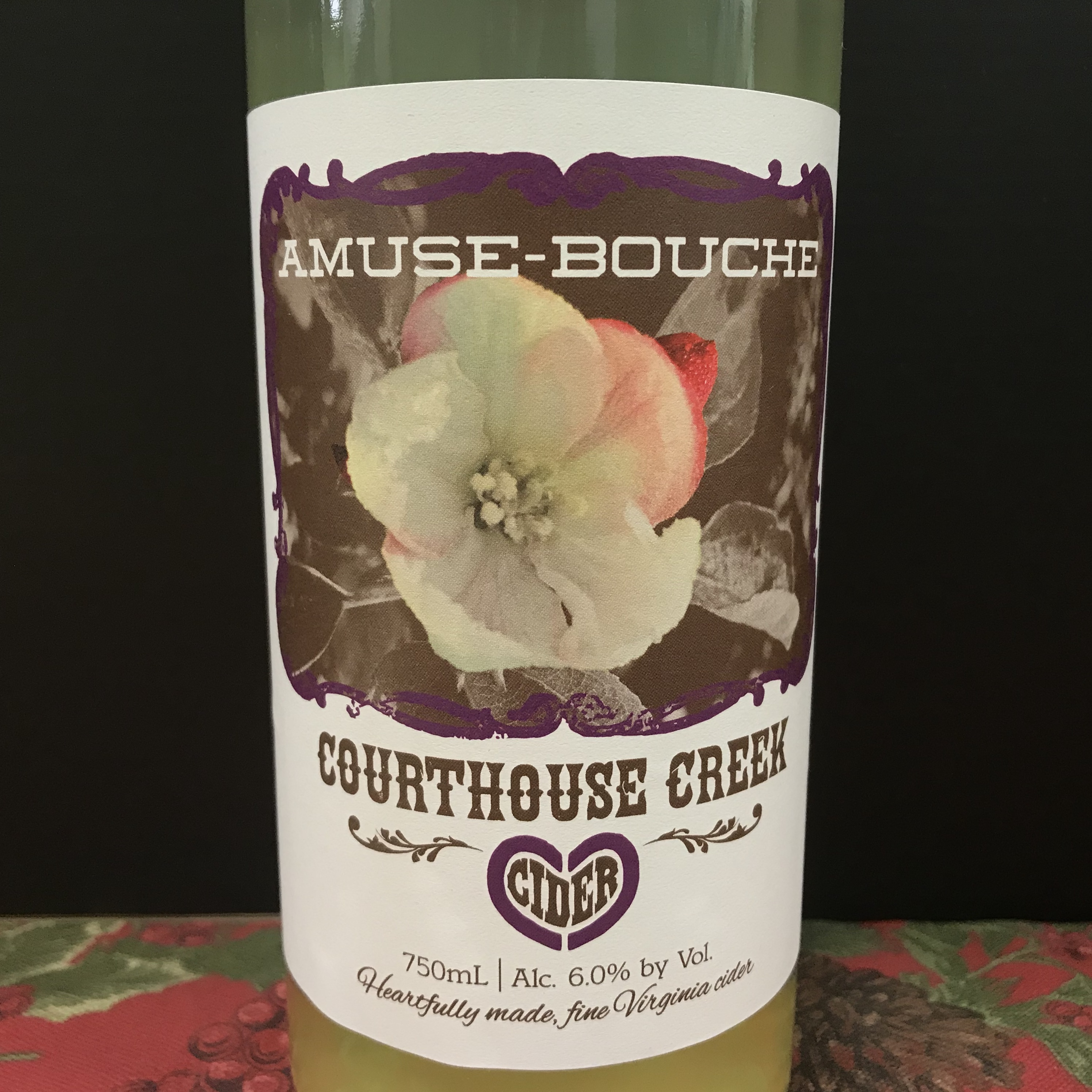 Courthouse Creek Amuse-Bouche Cider 750ml