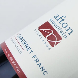 Afton Mountain Monticello Estate Cabernet Franc 2017