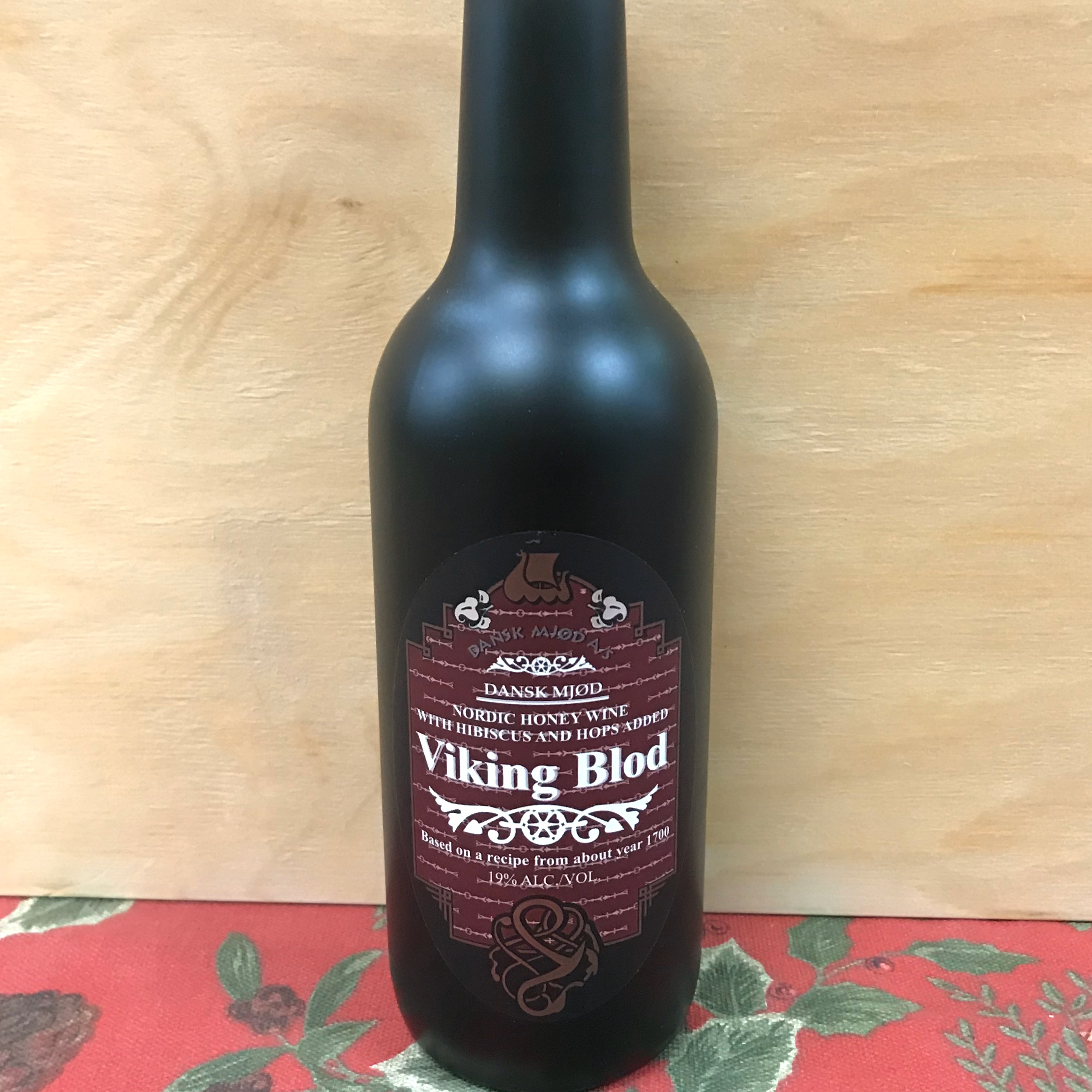 Viking Blod Blood Mead with Hops and Hibiscus 300 ml