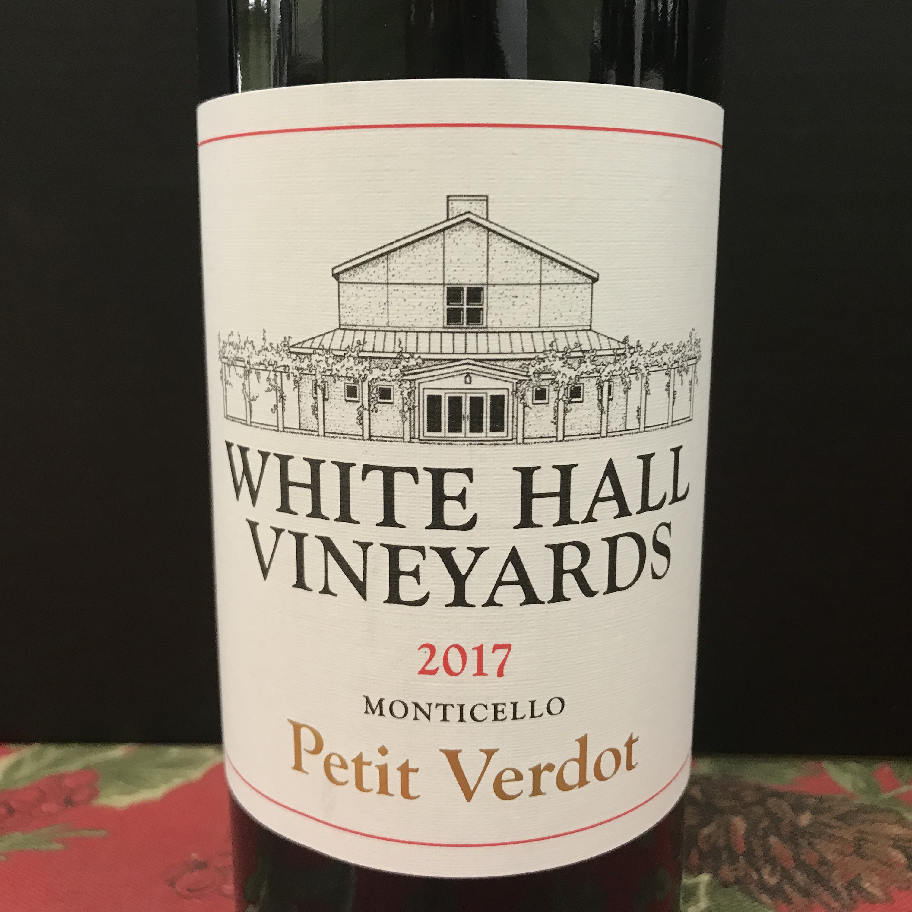 White Hall Vineyards Cabernet Franc Monticello 2017