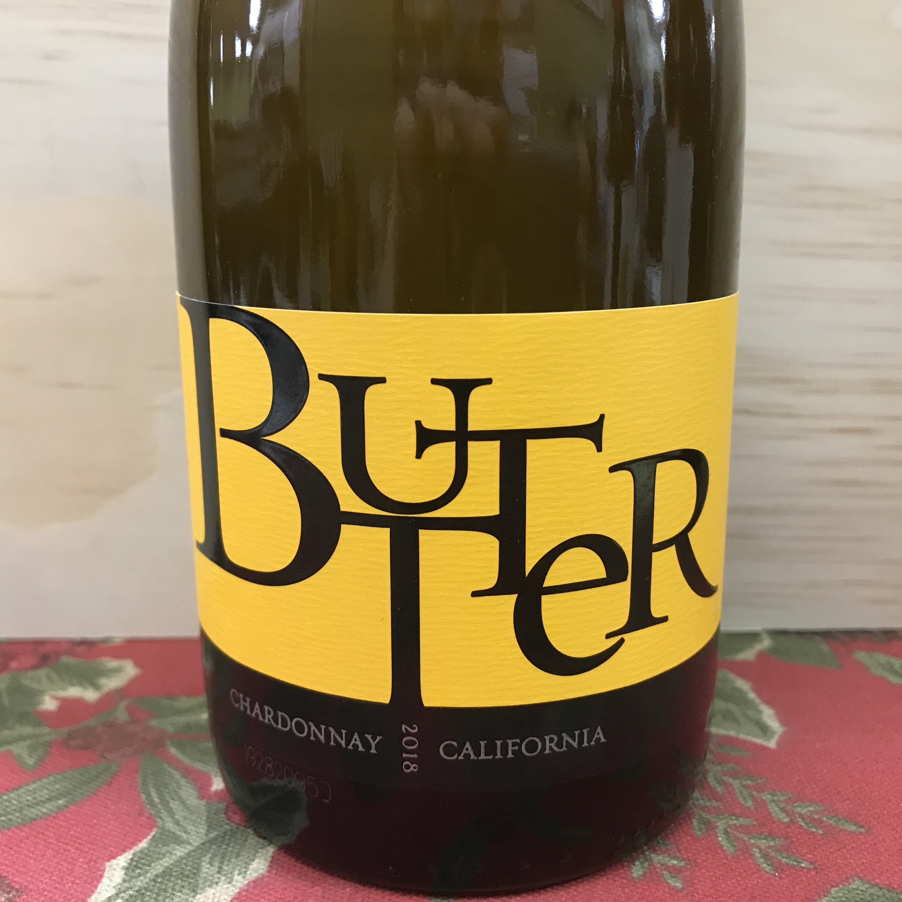 Jam Cellars BUTTER Chardonnay California 2018