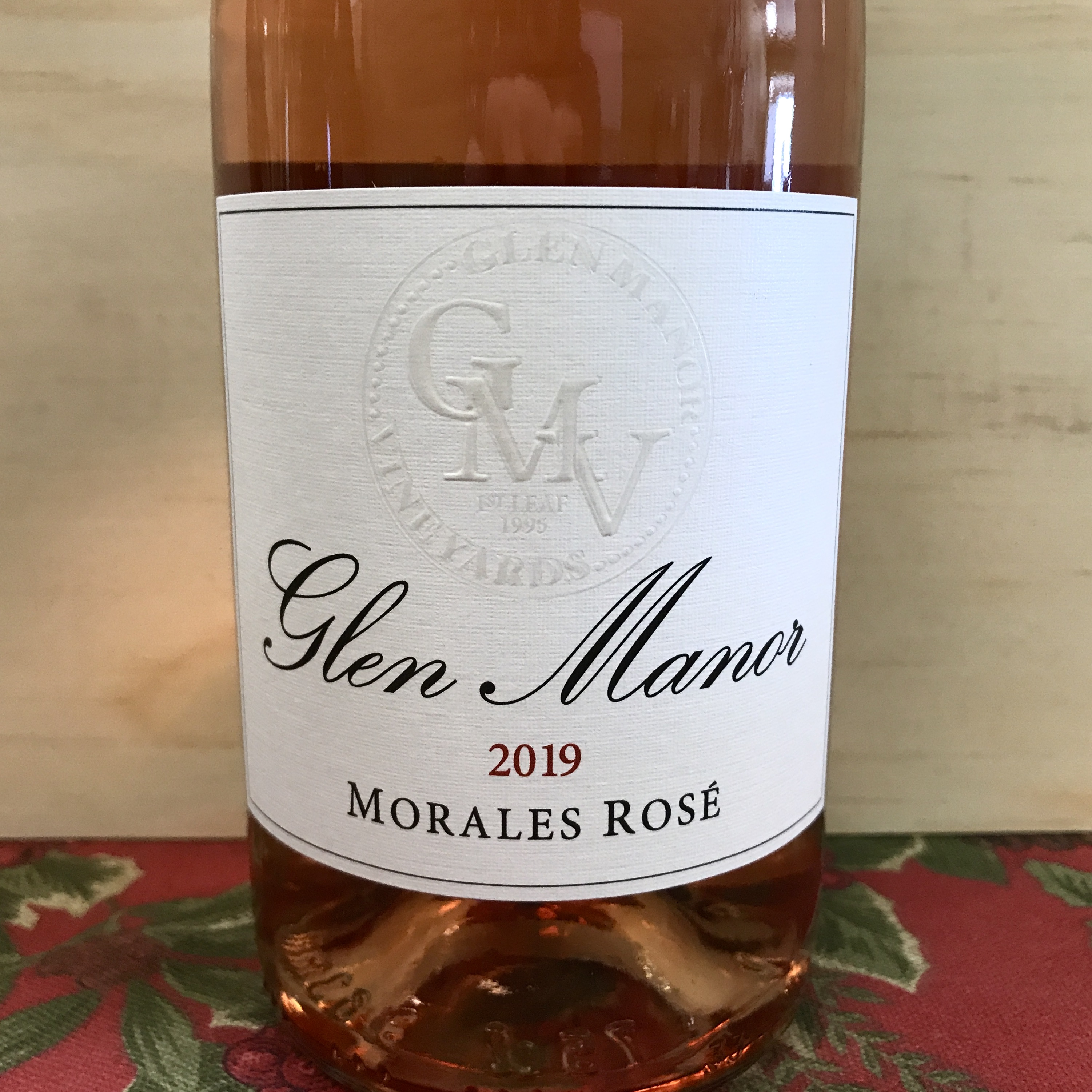Glen Manor Morales Rosé 2019