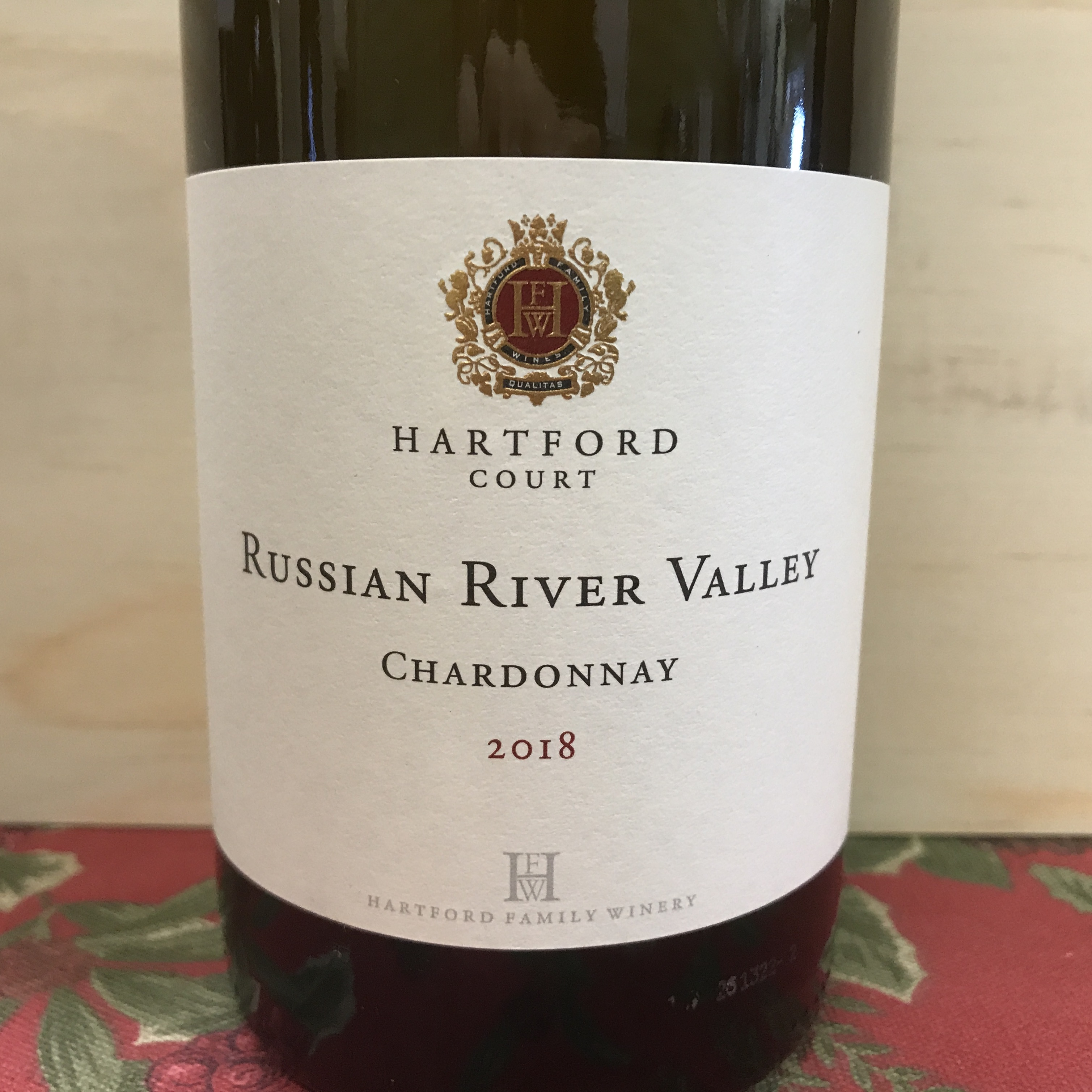 Hartford Court Russian River Chardonnay 2018